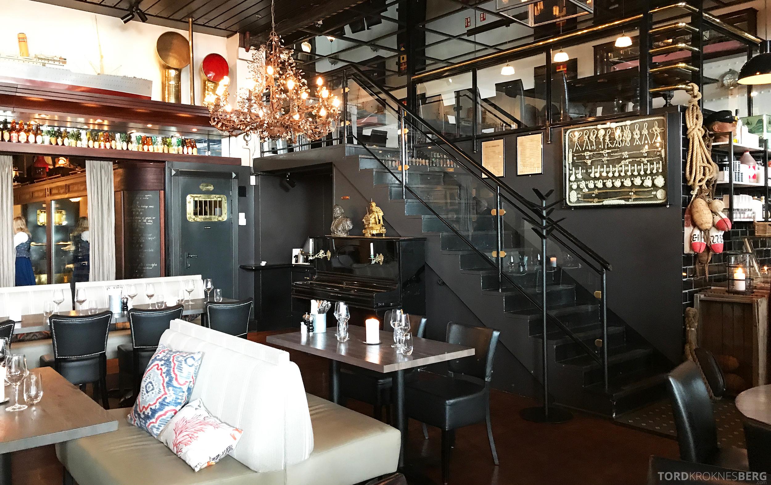Louise Restaurant Bar Aker Brygge interiør