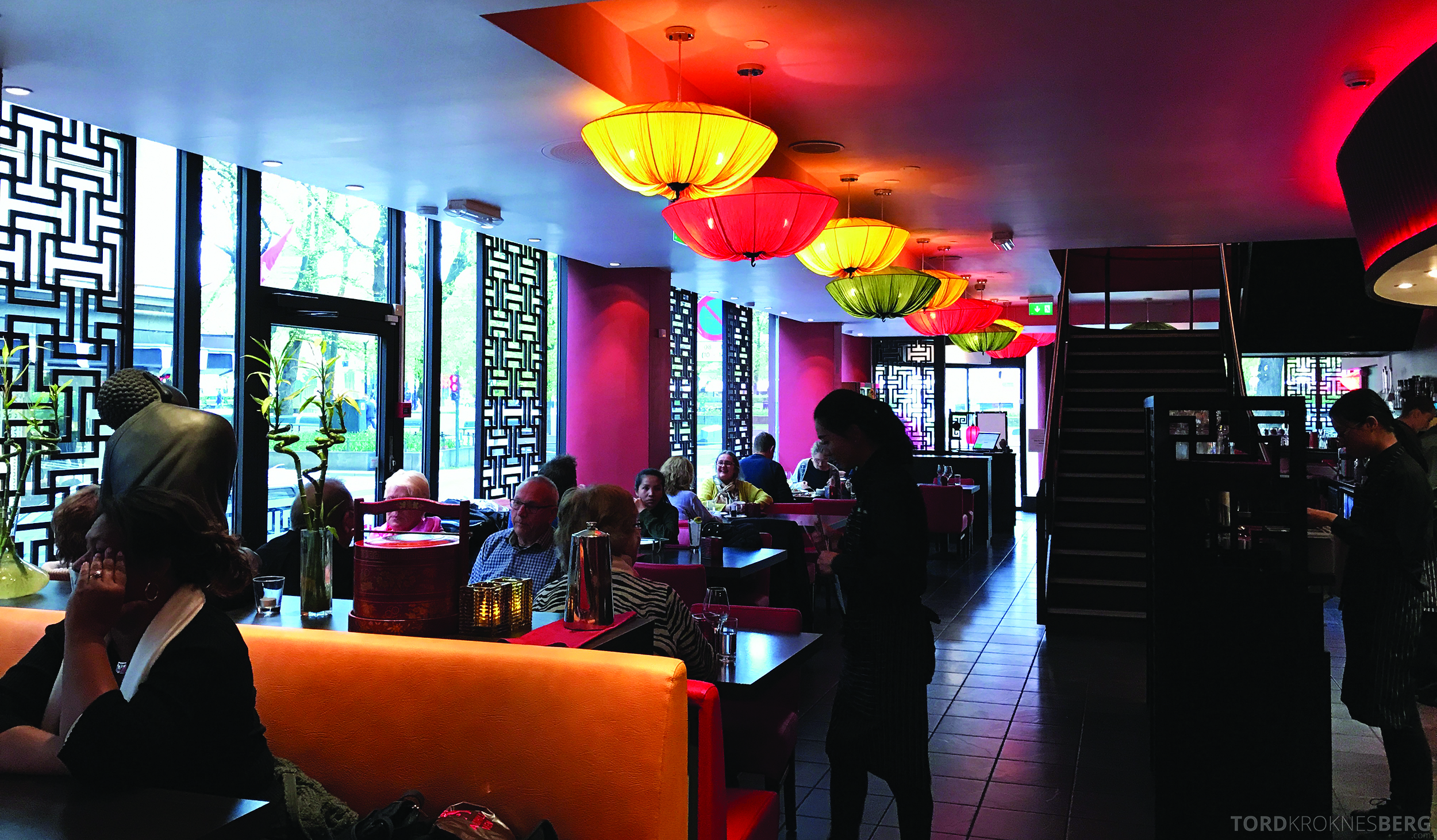 Mahayana Asian Dining Oslo stemning