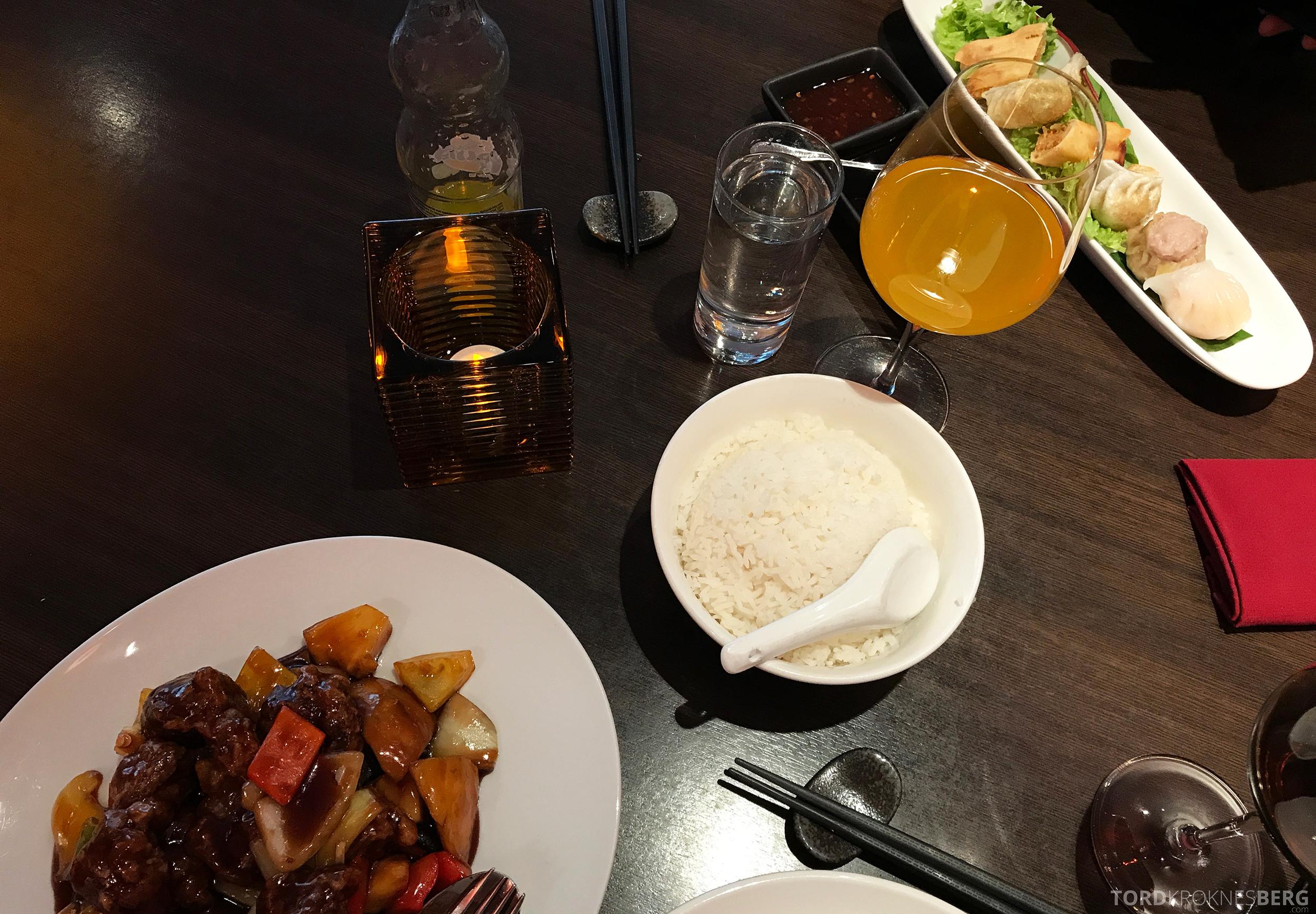 Mahayana Asian Dining Oslo mat