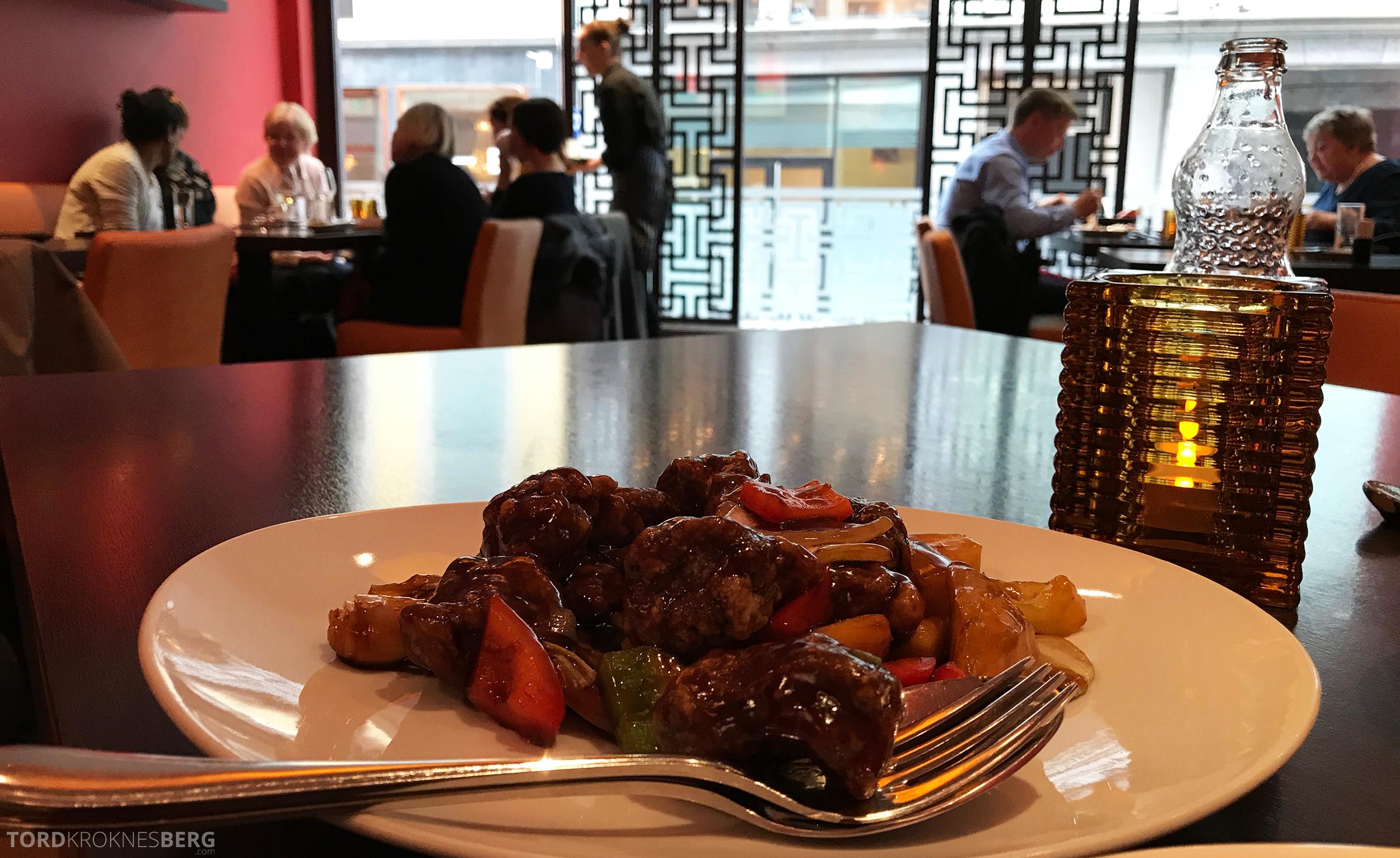 Mahayana Asian Dining Oslo mat utsikt