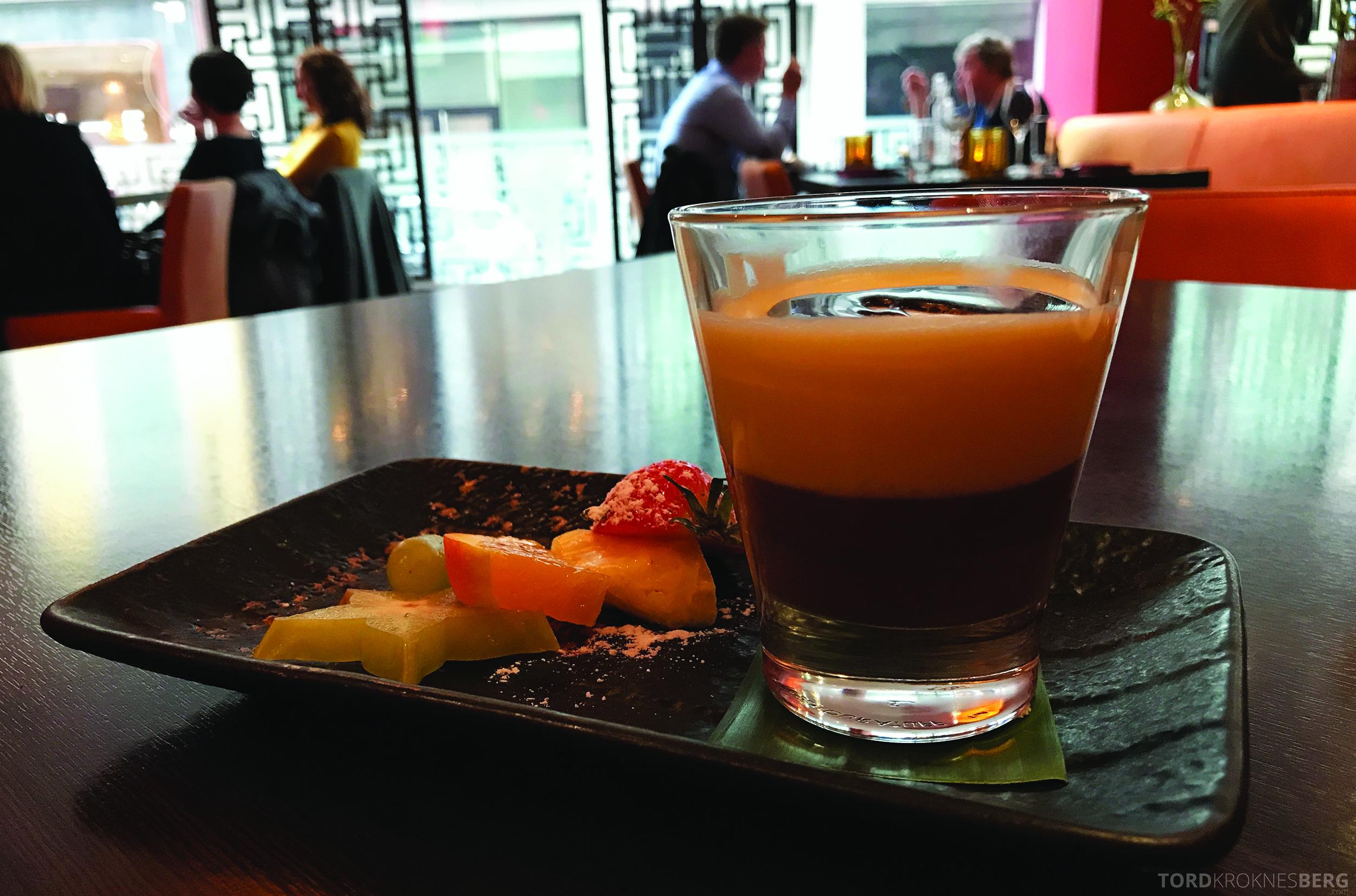 Mahayana Asian Dining Oslo sjokolademousse