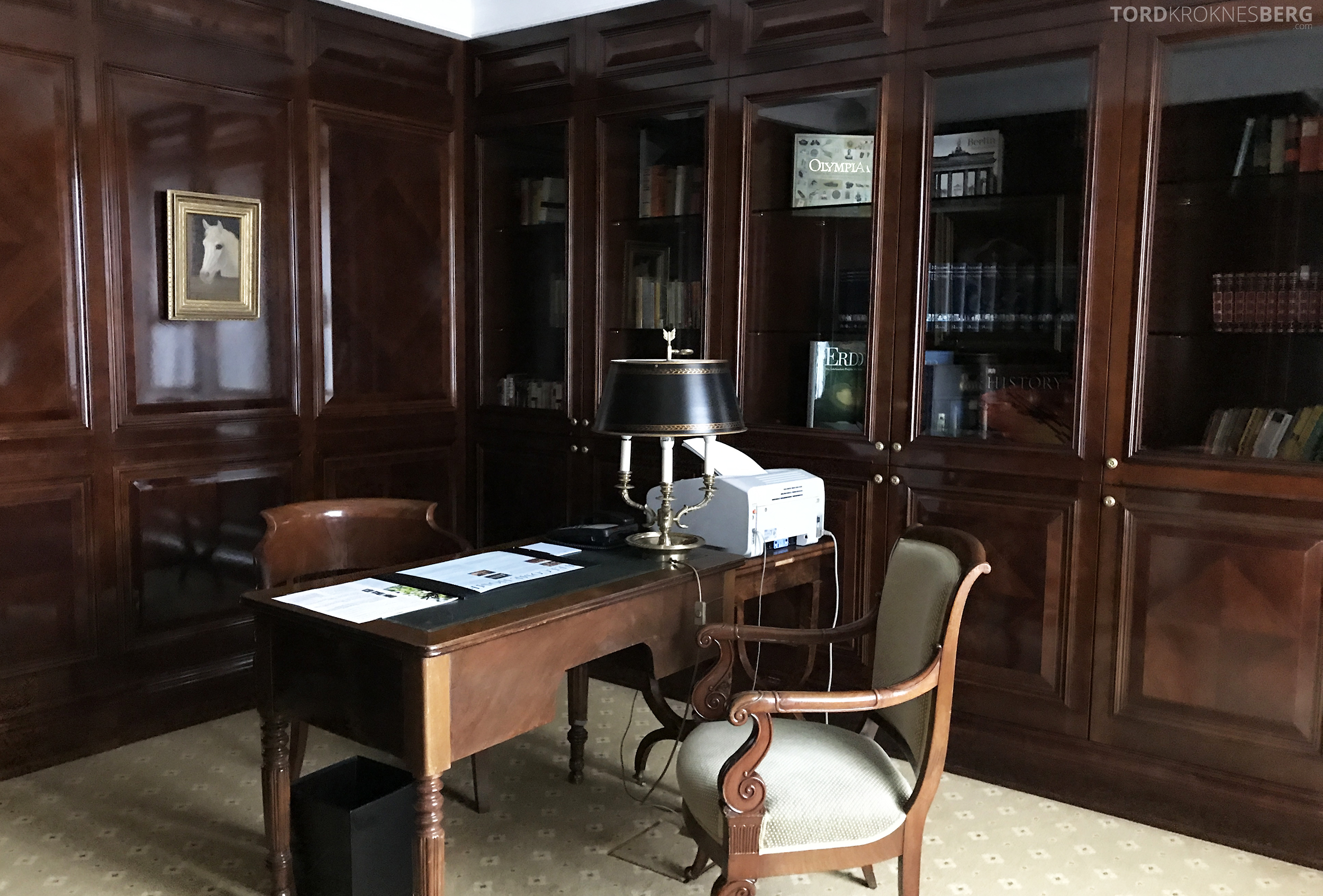 Ritz-Carlton Berlin Presidential Suite kontor