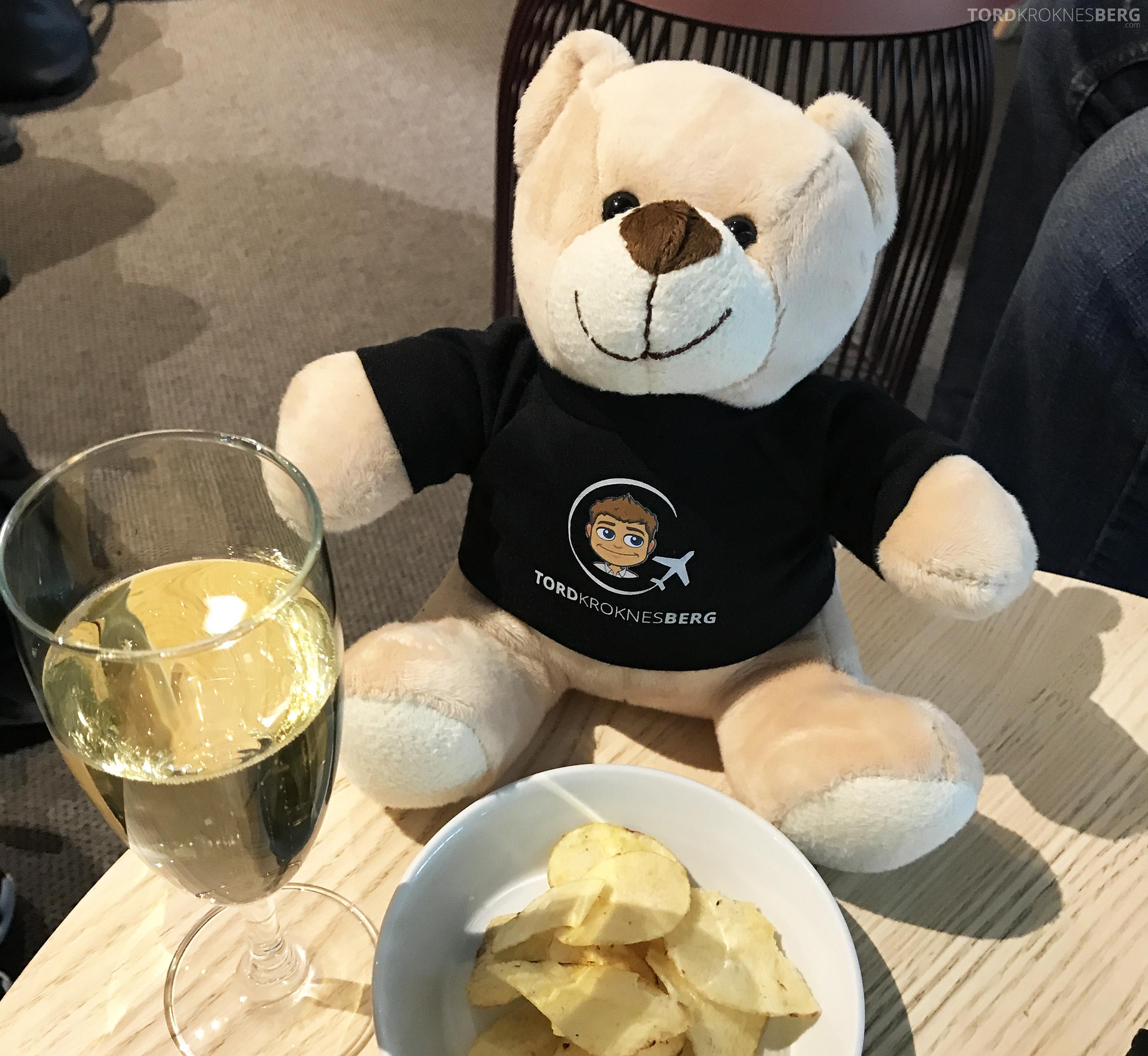 SAS Go Berlin lounge reisefølget