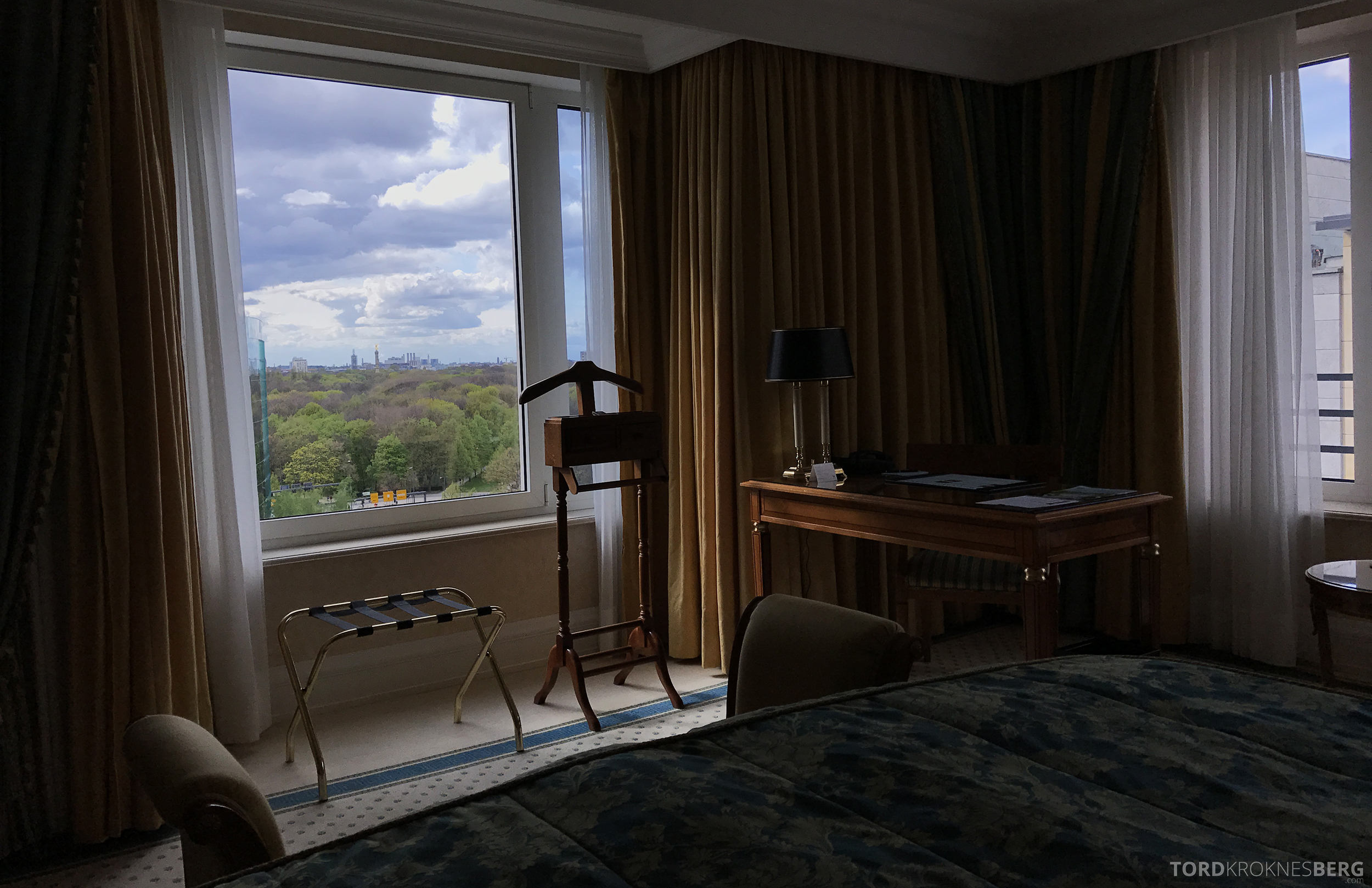 The Ritz-Carlton Berlin utsikt seng