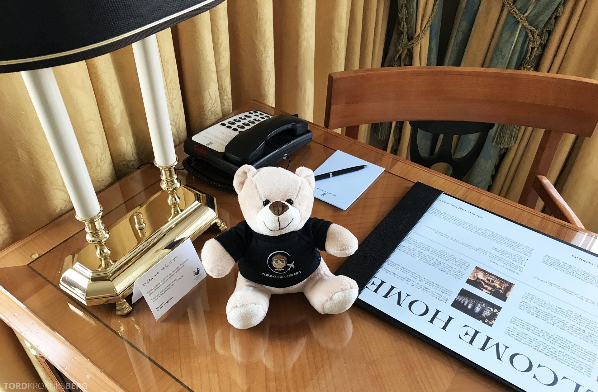 The Ritz-Carlton Berlin reisefølget bord