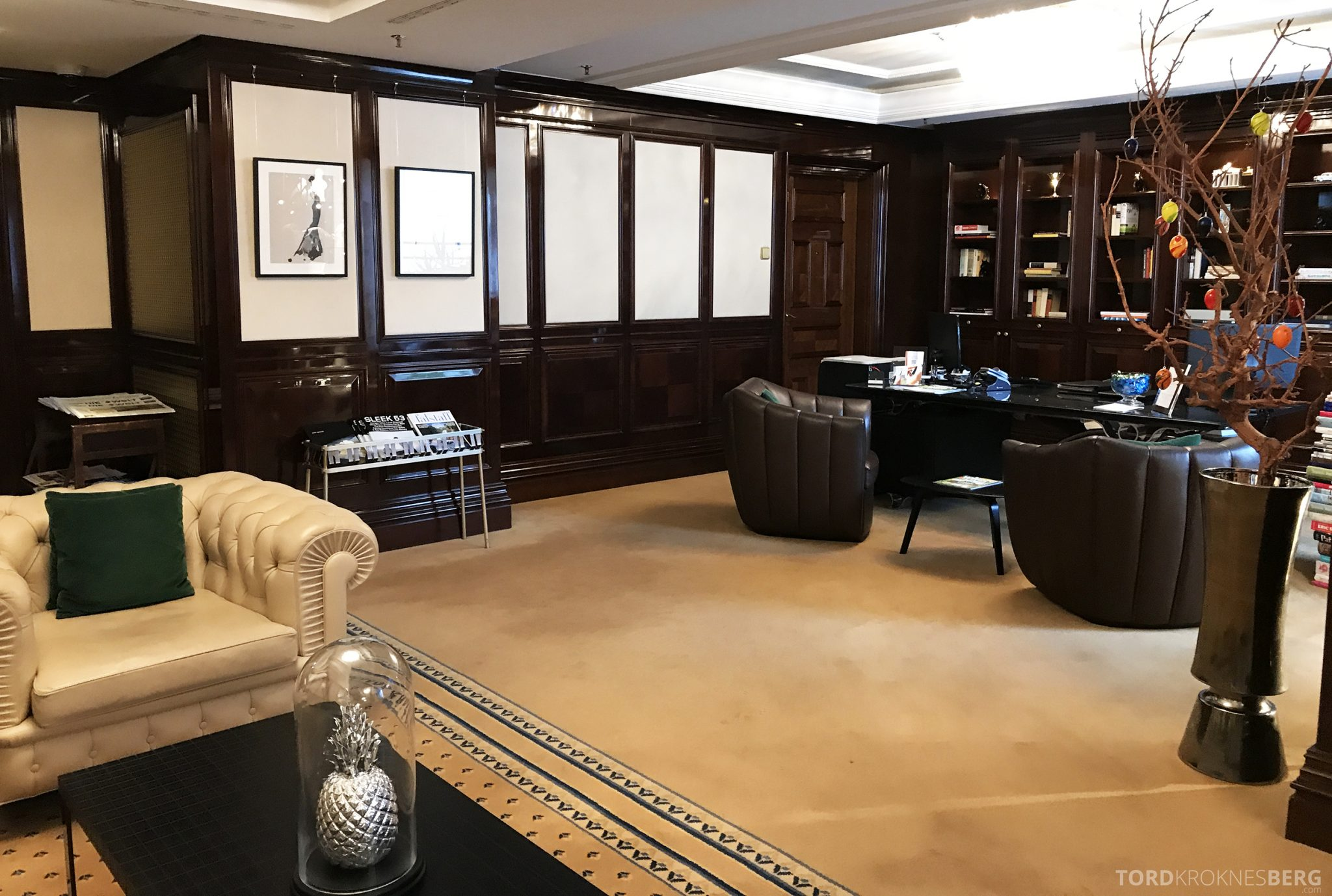 The Ritz-Carlton Berlin Club Lounge resepsjon