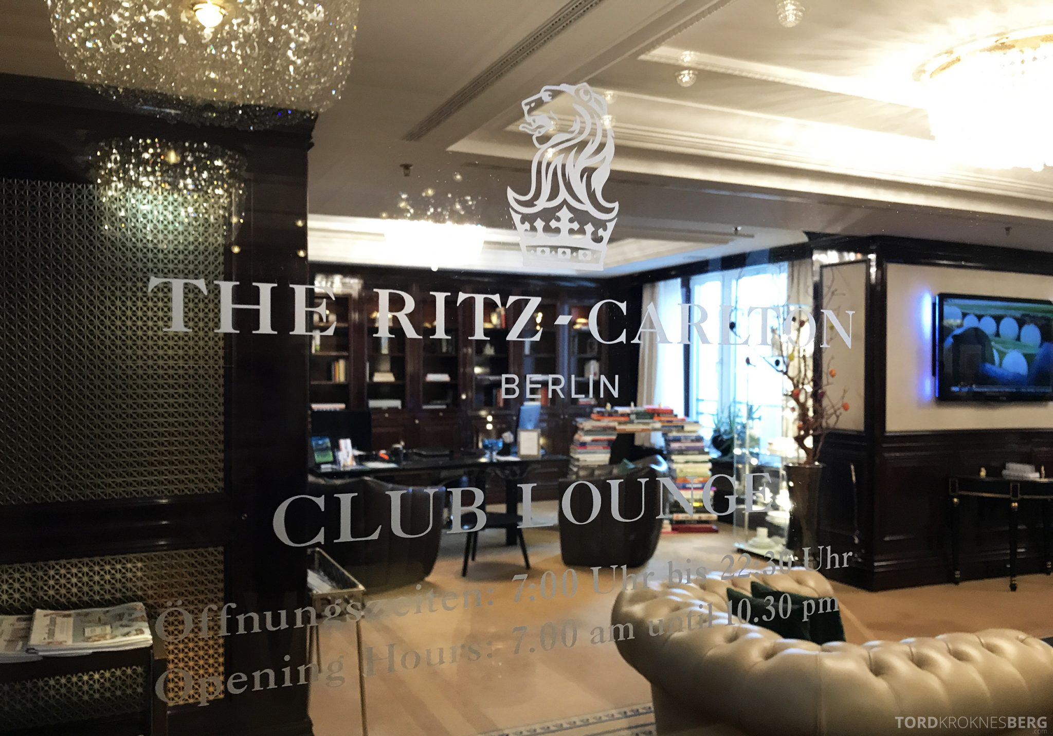 The Ritz-Carlton Berlin Club Lounge inngang