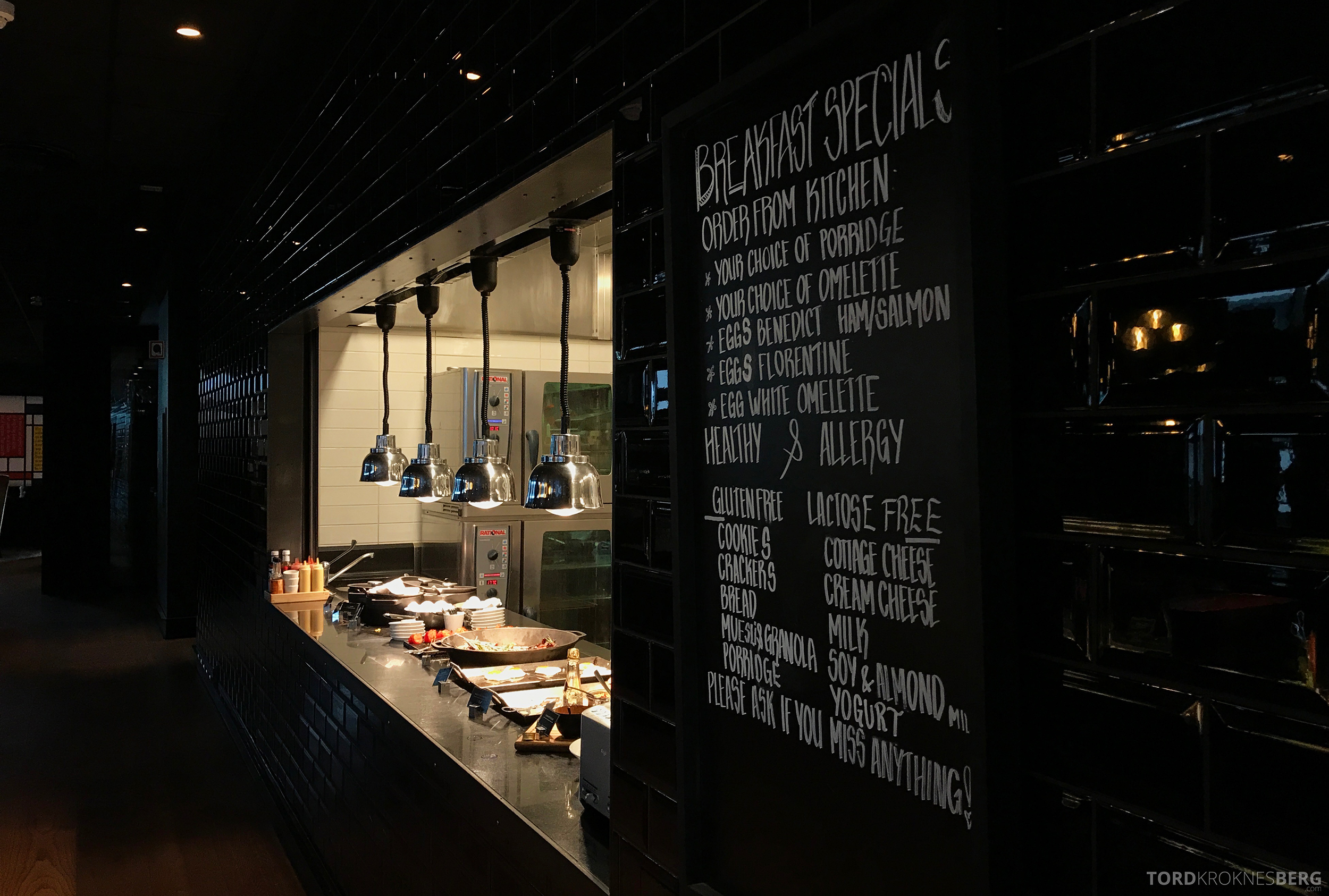 The Thief Tjuvholmen frokostbuffet kjøkken