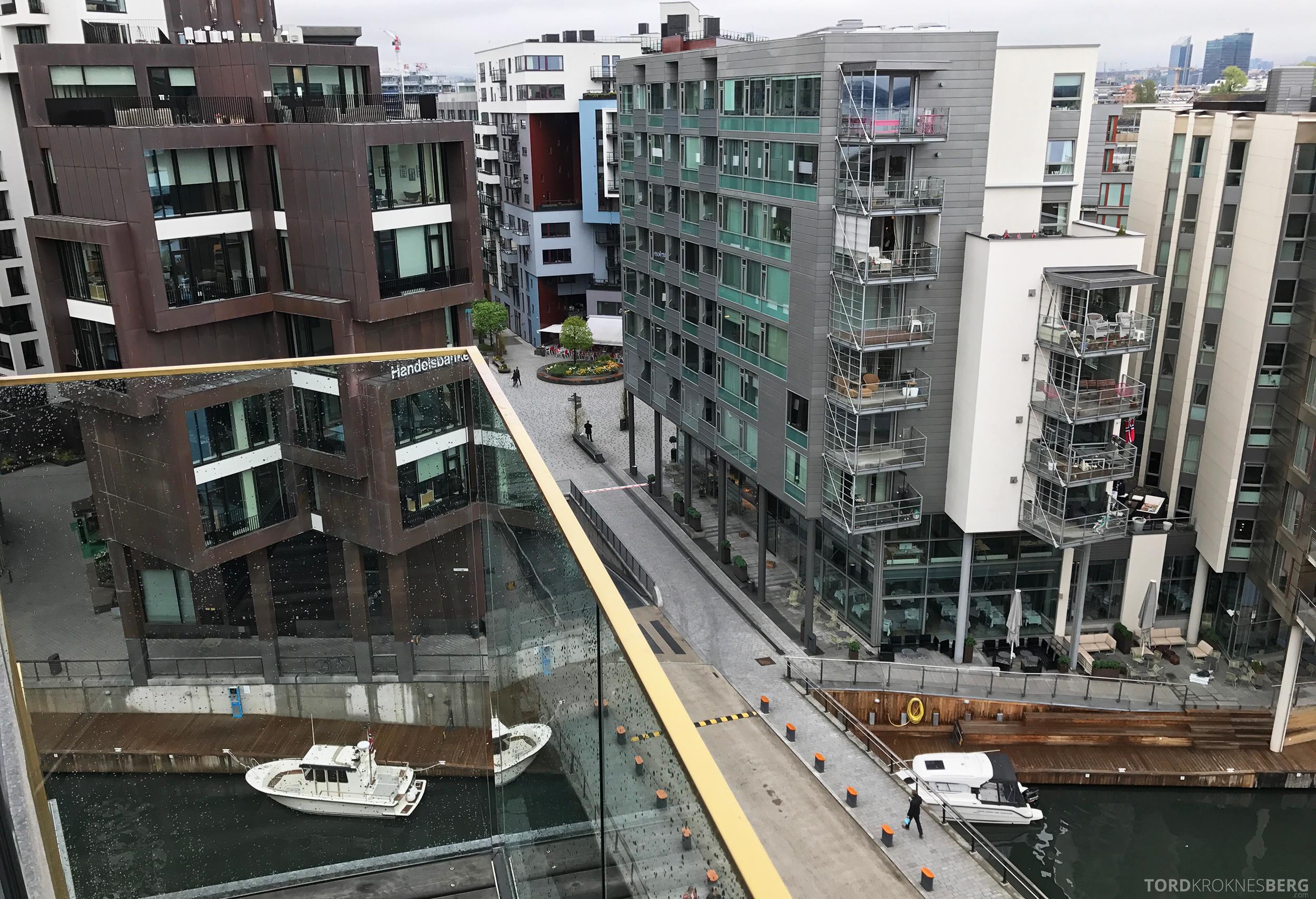 The Thief Tjuvholmen utsikt balkong