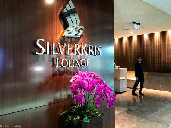 Singapore Airlines SilverKris Lounge resepsjon