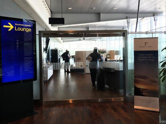 Stockholm Arlanda Lounge inngang
