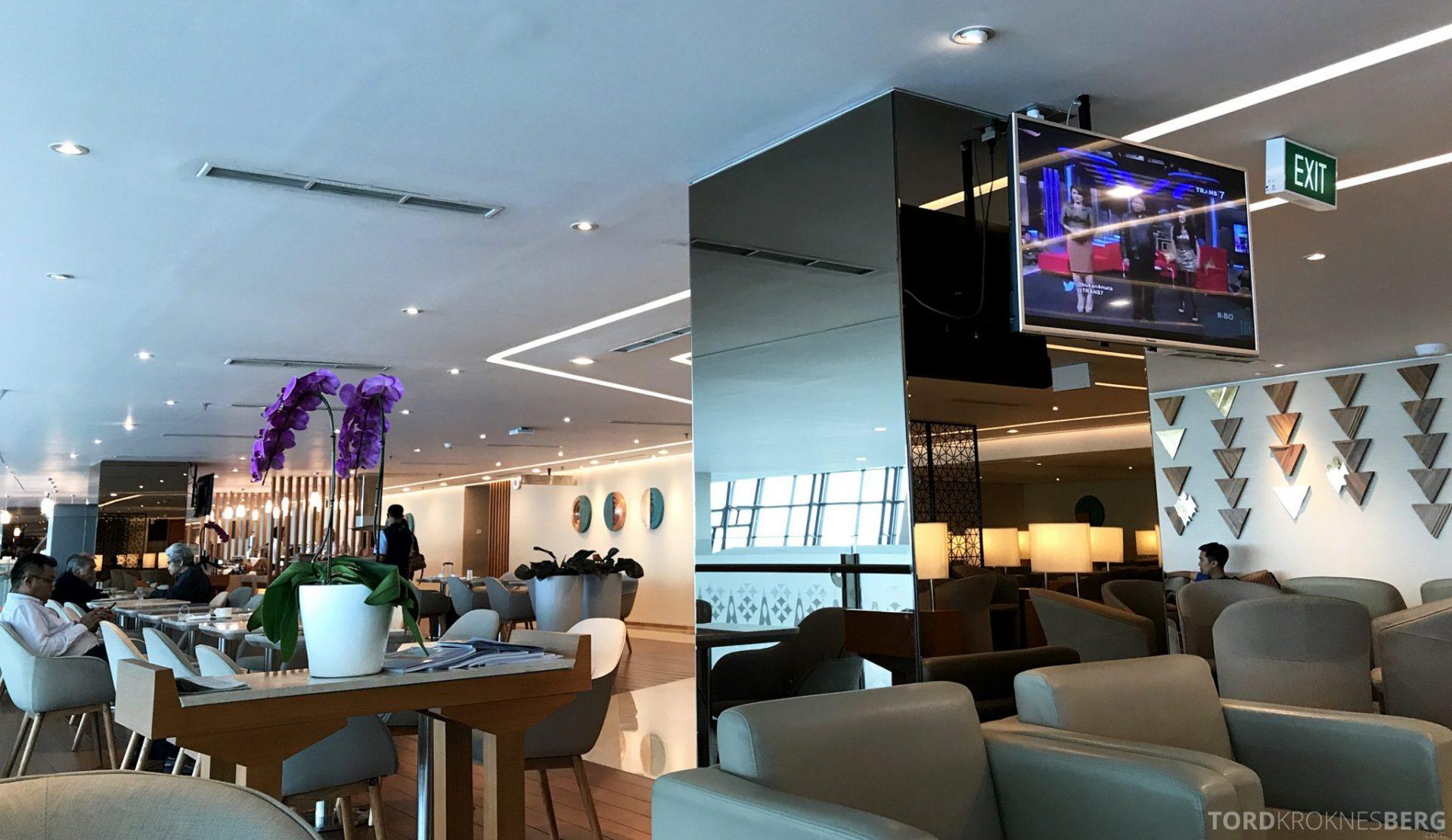 Garuda Indonesia Domestic Lounge Jakarta detaljer