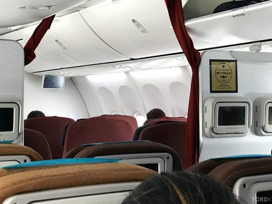 Garuda Indonesia Jakarta adskilt kabin