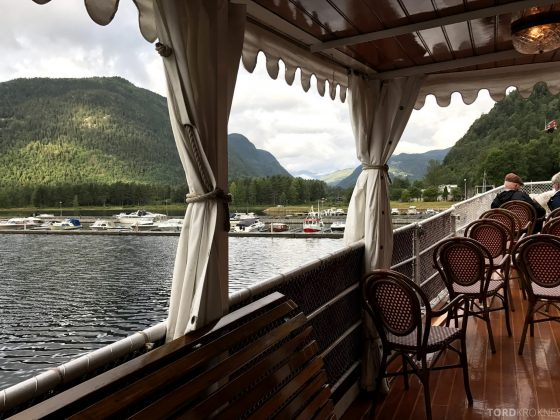 MS Henrik Ibsen Cruise Telemarkskanalen utsikt