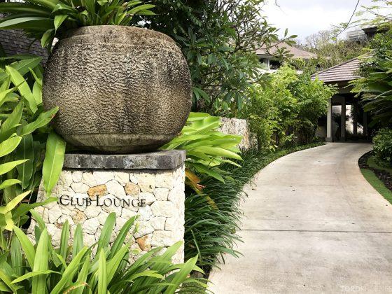 Ritz-Carlton Bali Club Lounge inngang