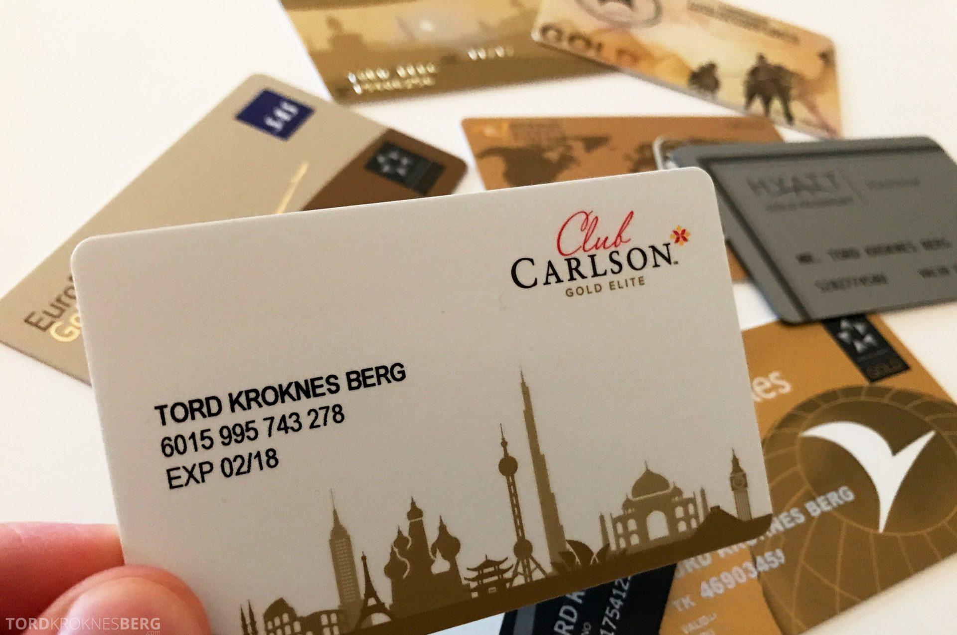 Club Carlson Gold