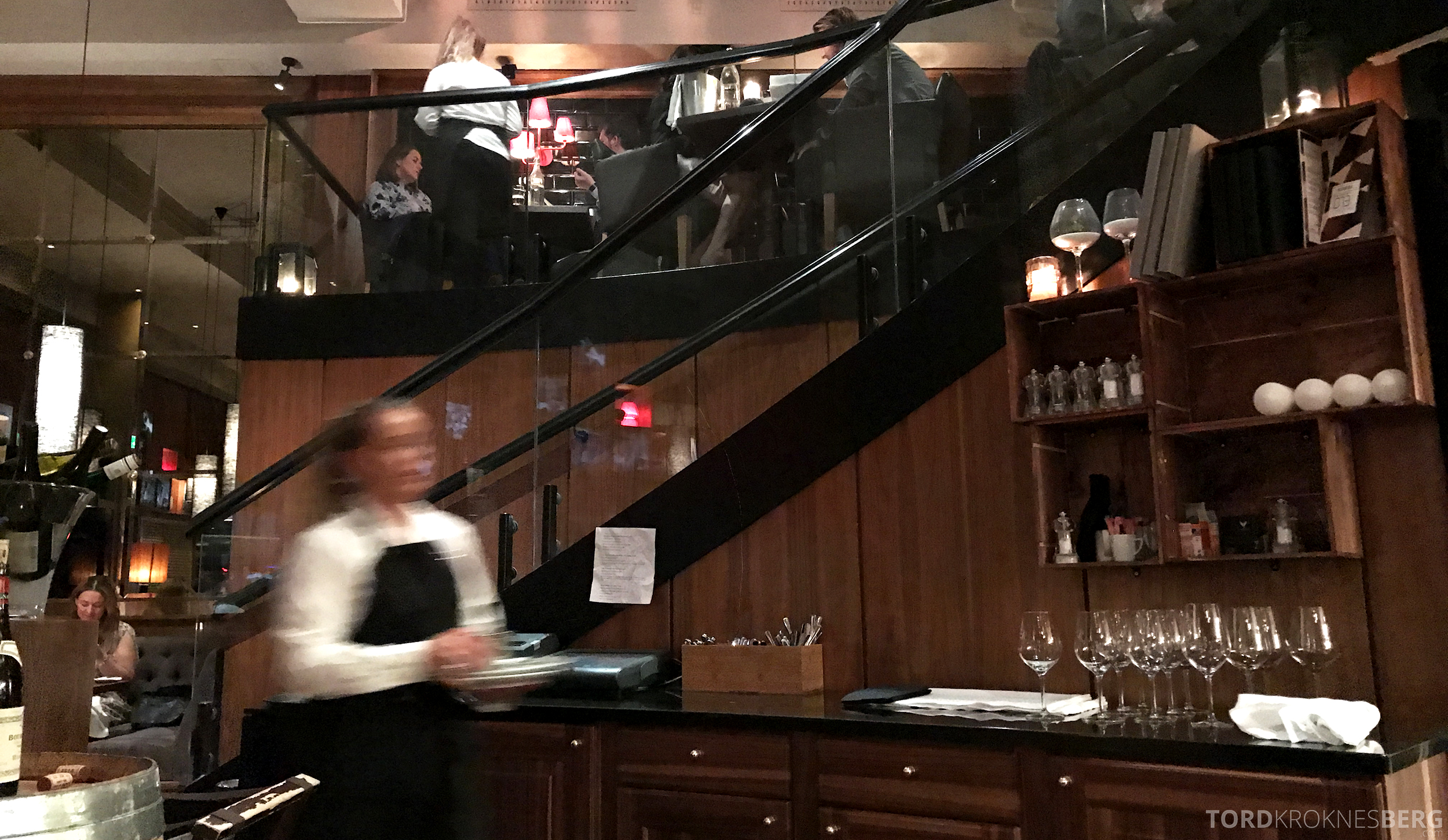 Emilies Eld Restaurant Trondheim servitrise