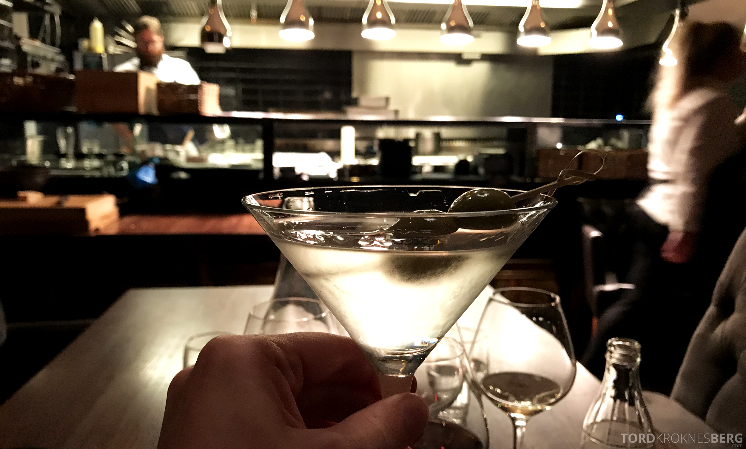 Emilies Eld Restaurant Trondheim martini