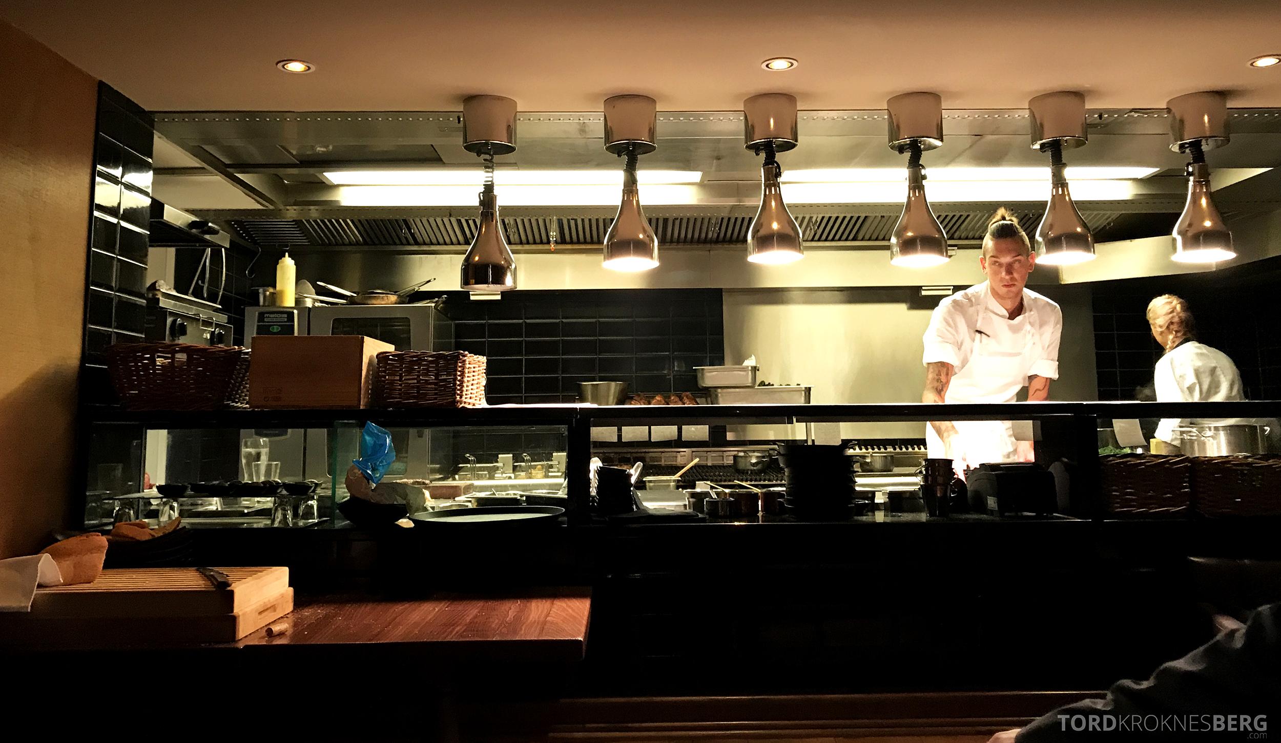 Emilies Eld Restaurant Trondheim åpent kjøkken