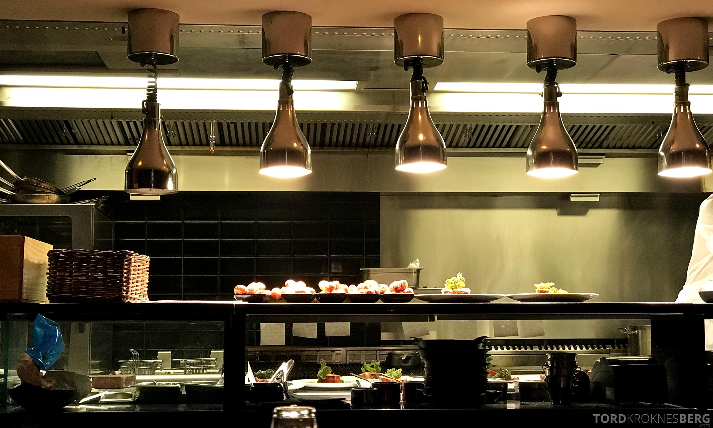 Emilies Eld Restaurant Trondheim kjøkken