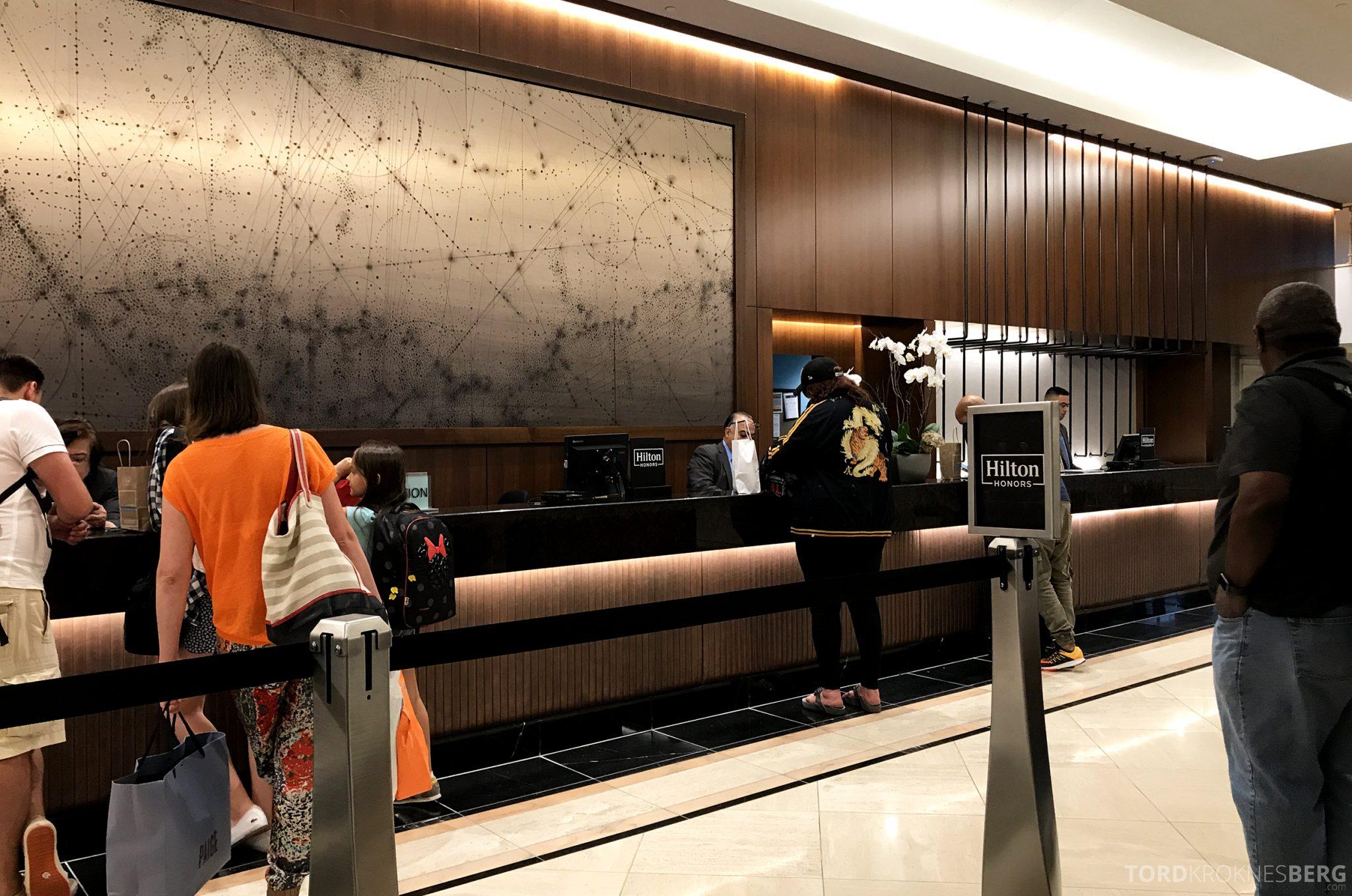 Hilton San Francisco Hotel innsjekk