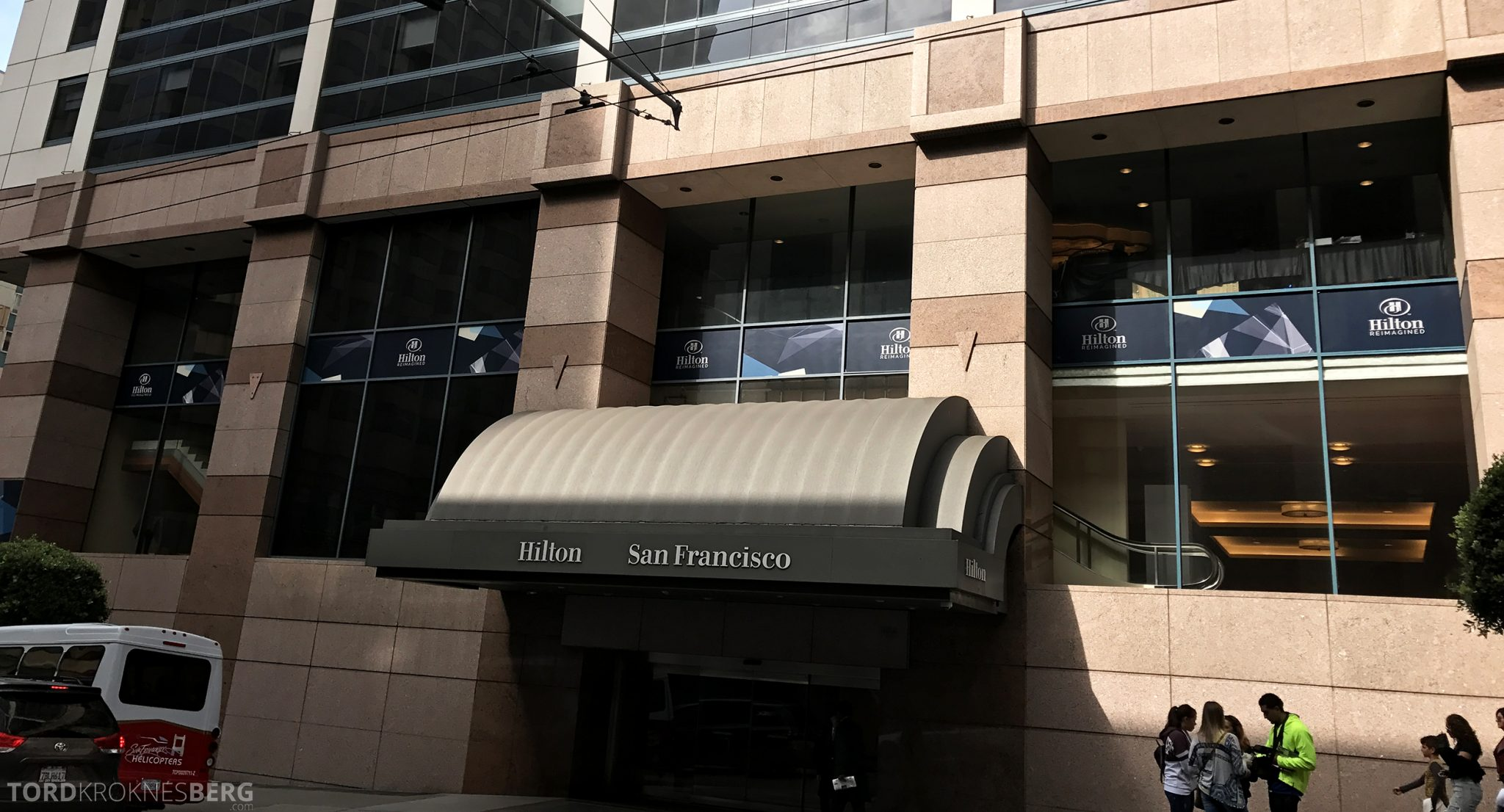 Hilton San Francisco Hotel utsiden