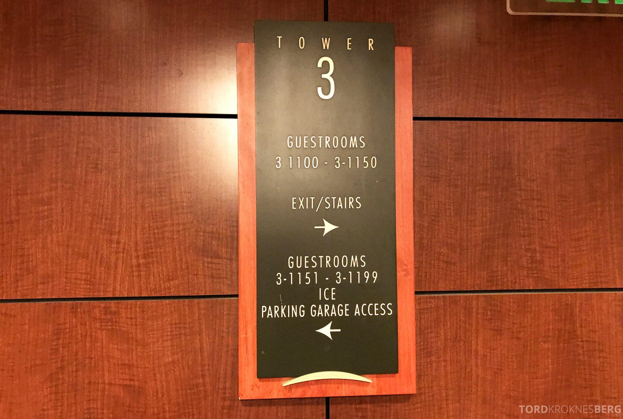 Hilton San Francisco Hotel tredje etasje