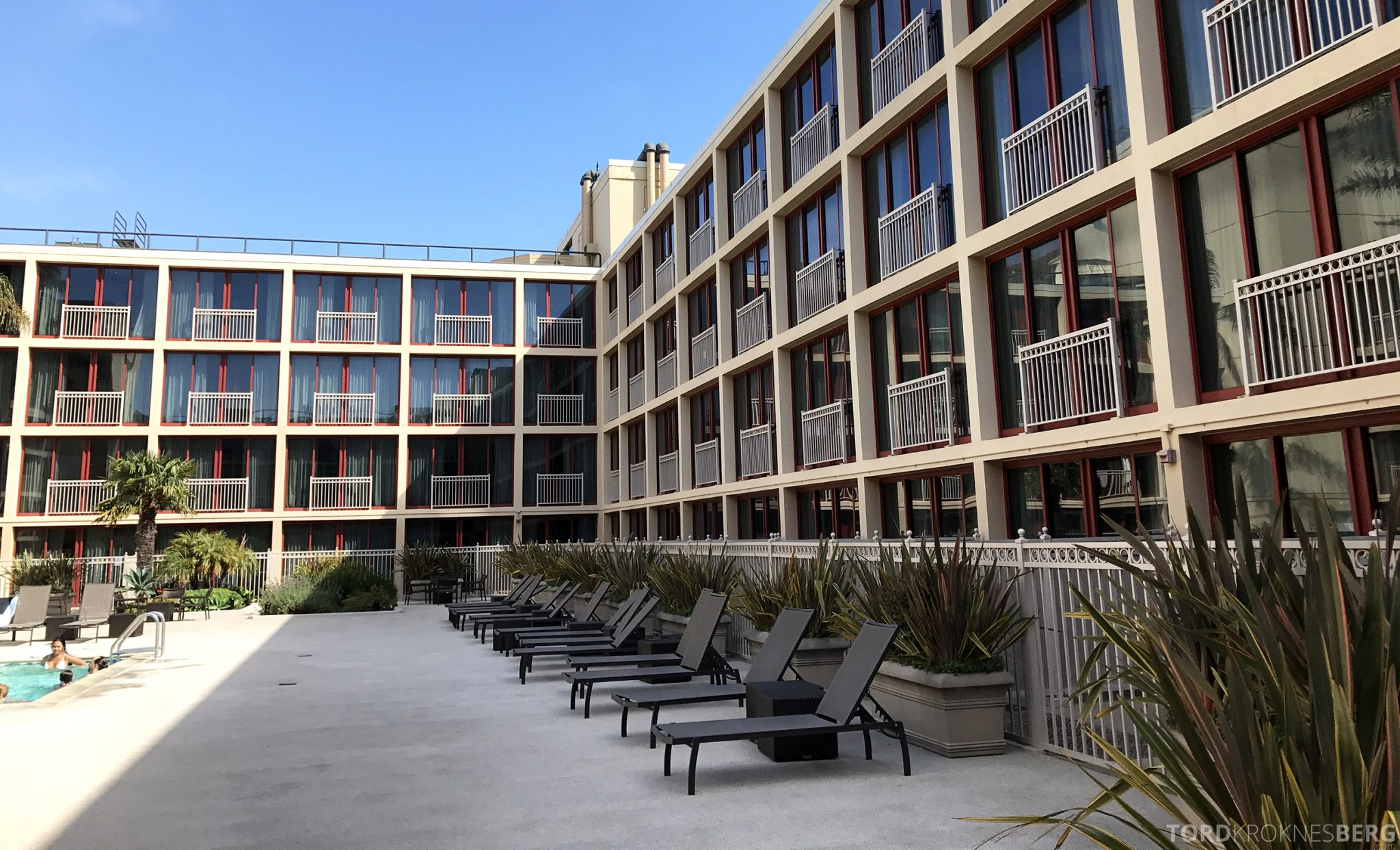 Hilton San Francisco Hotel solstoler