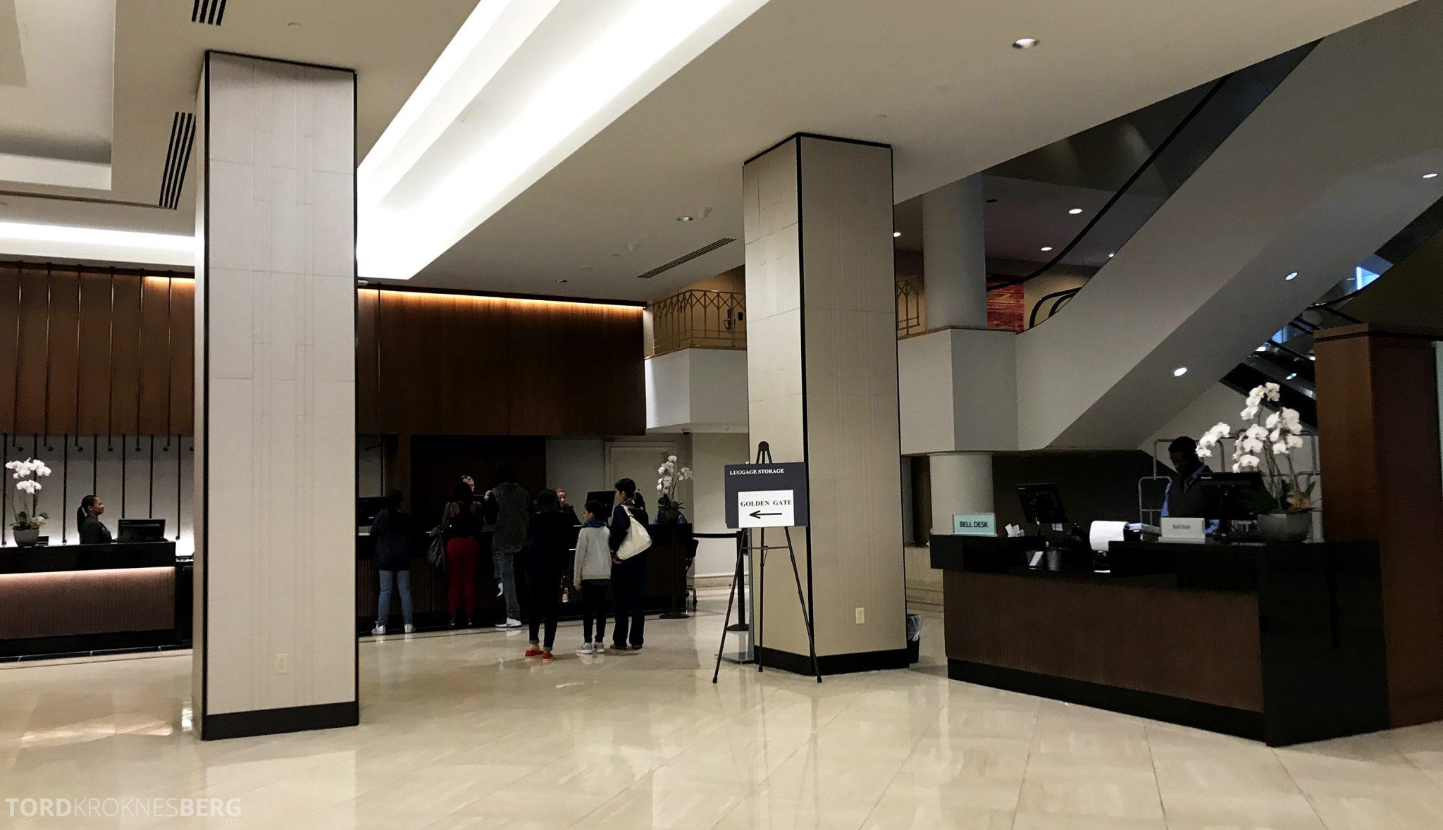 Hilton San Francisco Hotel utsjekk