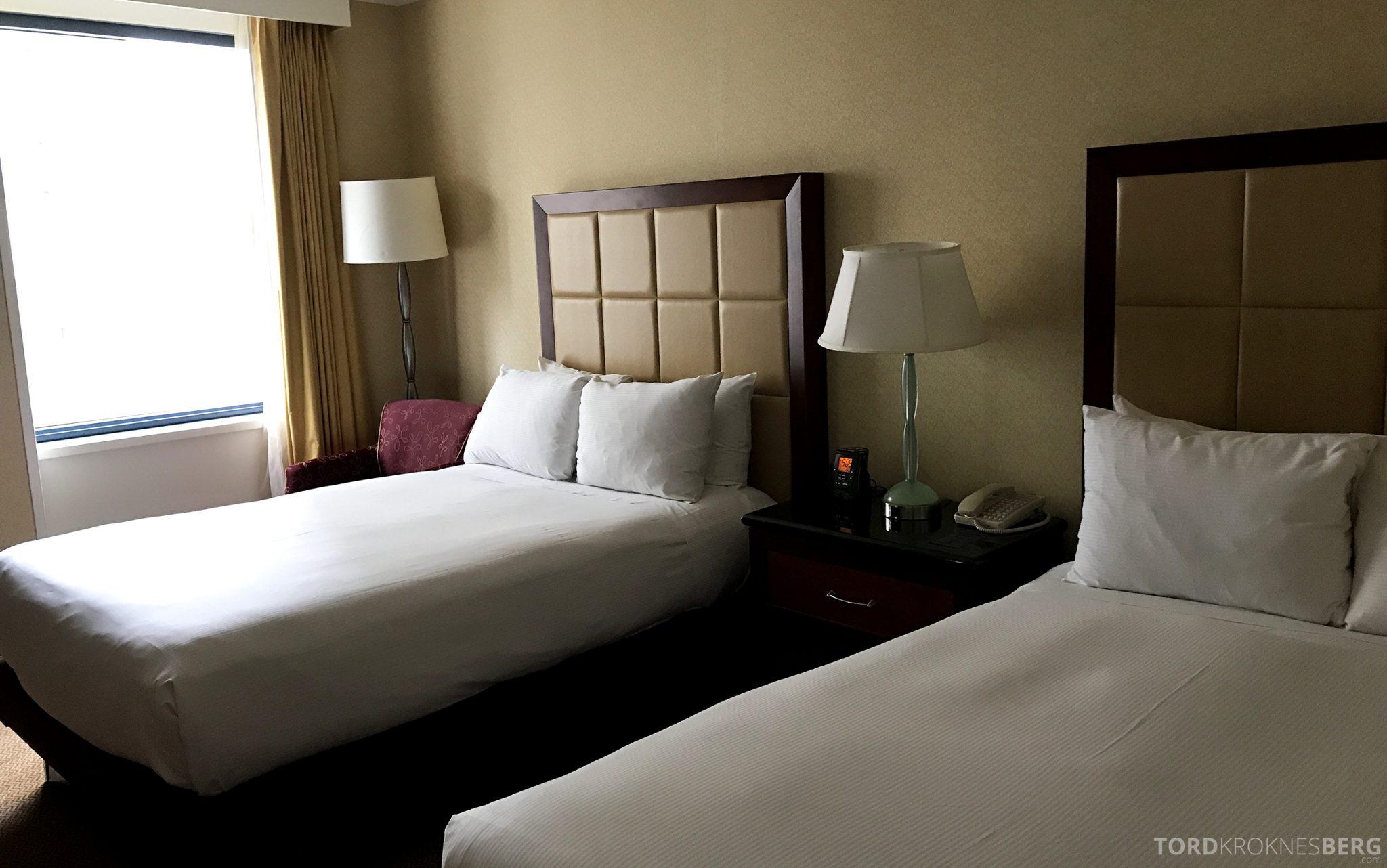 Hilton San Francisco Hotel twin beds