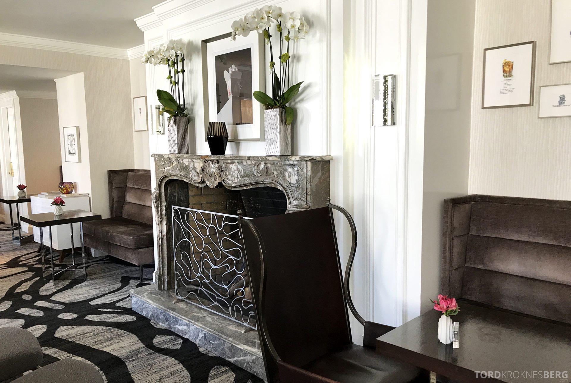 Ritz-Carlton San Francisco Hotel Club Lounge peis