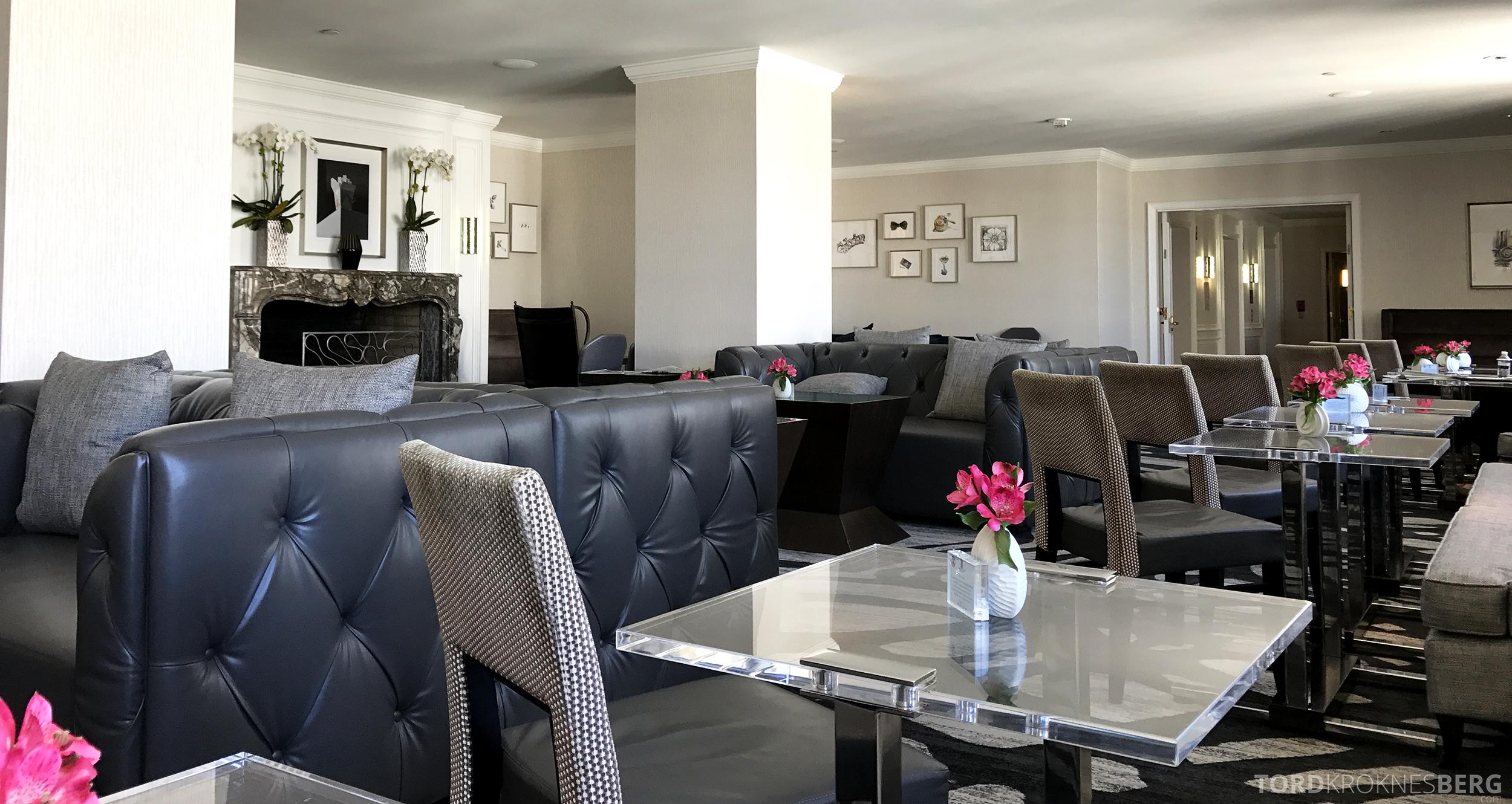 Ritz-Carlton San Francisco Hotel Club Lounge lokaler