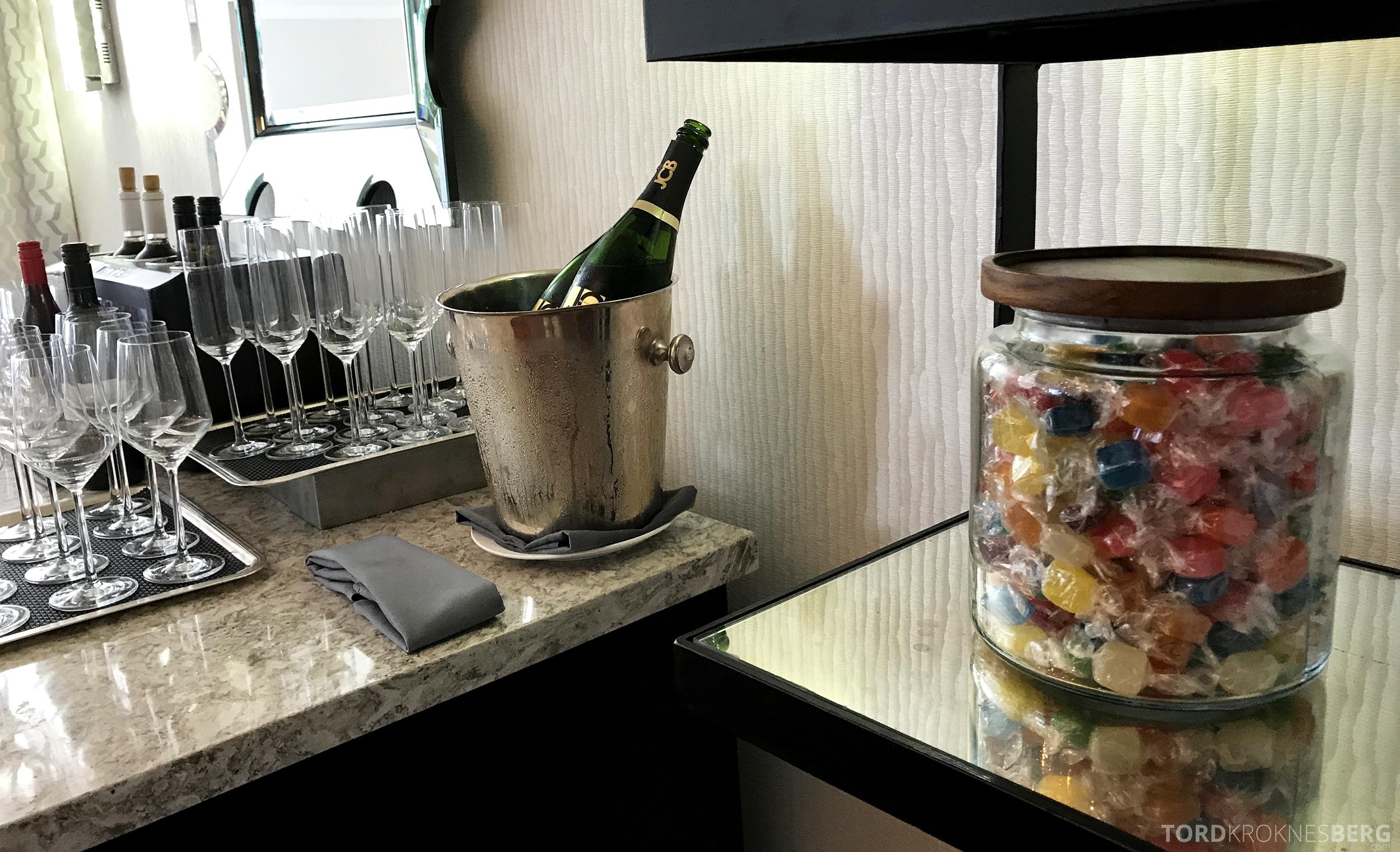 Ritz-Carlton San Francisco Hotel Club Lounge godteri