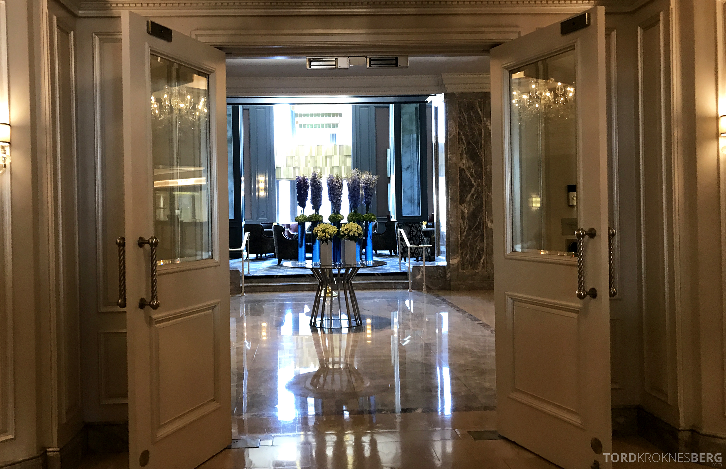 Ritz-Carlton San Francisco Hotel lobby