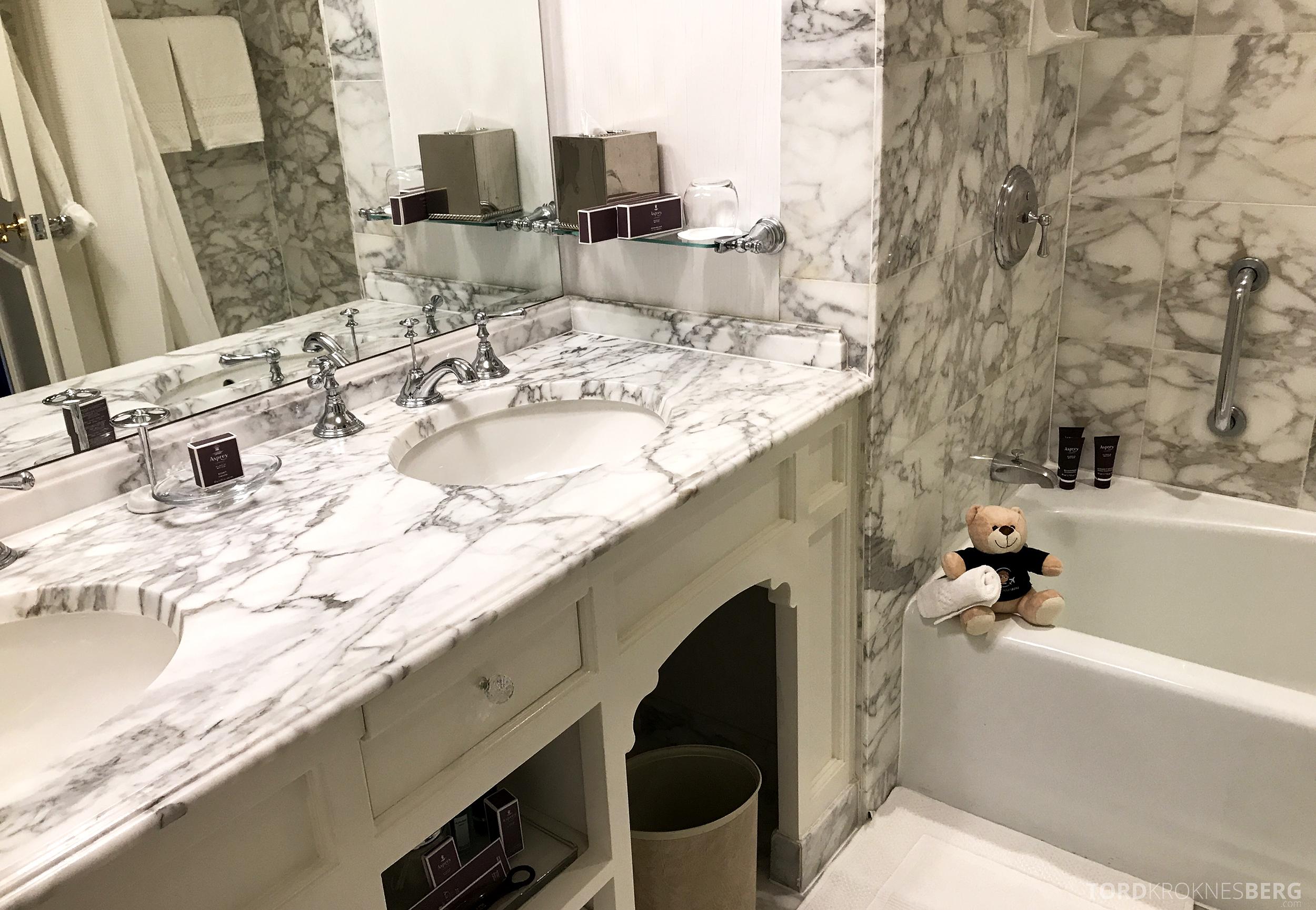 Ritz-Carlton San Francisco Hotel badekar