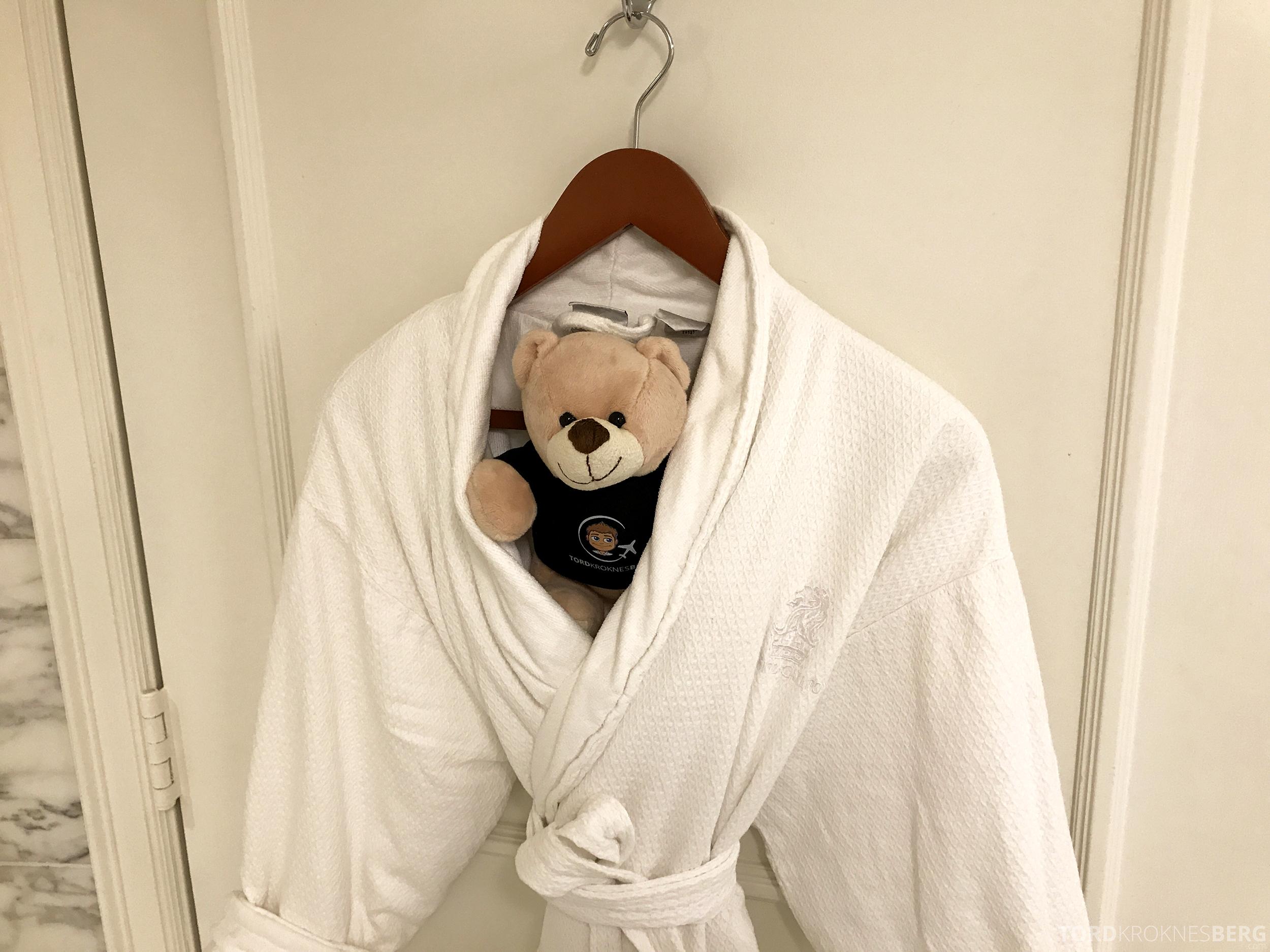 Ritz-Carlton San Francisco Hotel reisefølget badekåpe
