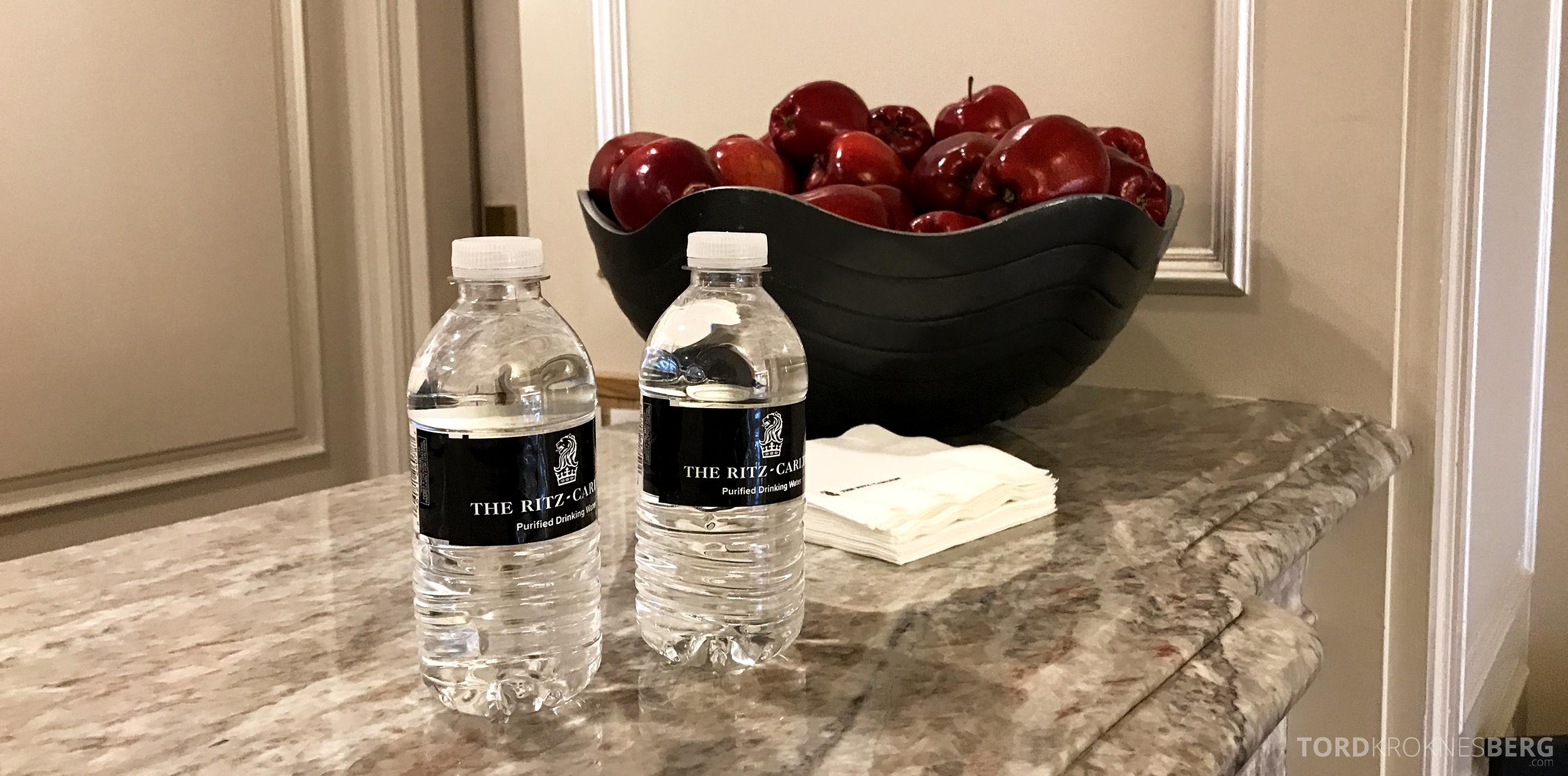 Ritz-Carlton San Francisco Hotel vann og frukt