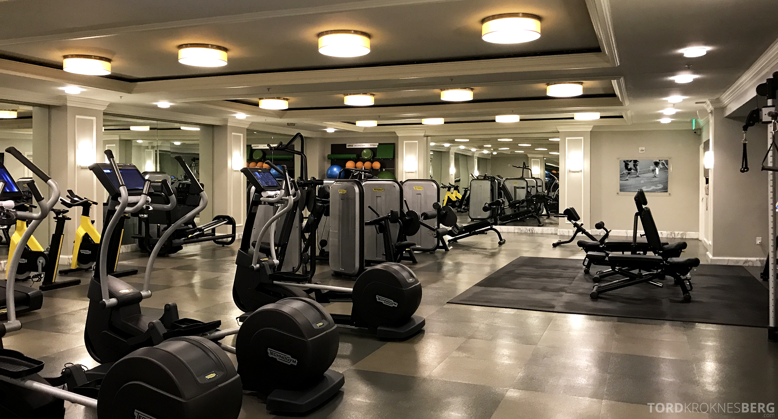 Ritz-Carlton San Francisco Hotel fitnessenter
