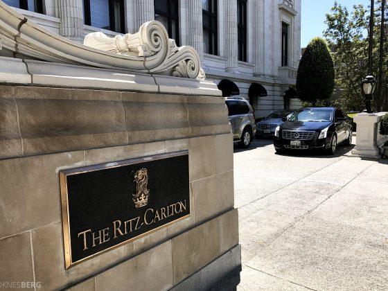 Ritz-Carlton San Francisco Hotel hovedinngang
