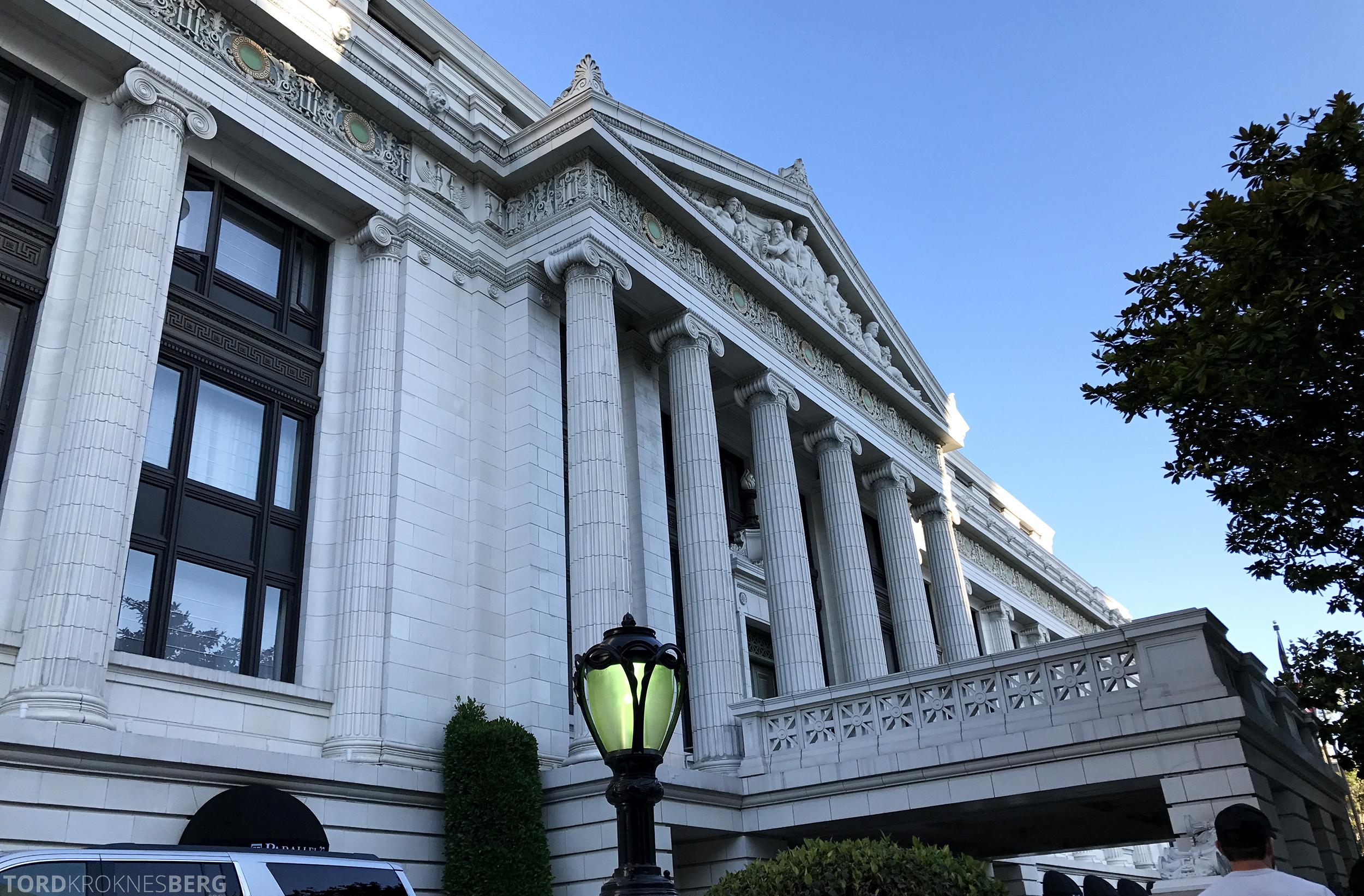 Ritz-Carlton San Francisco Hotel fasade