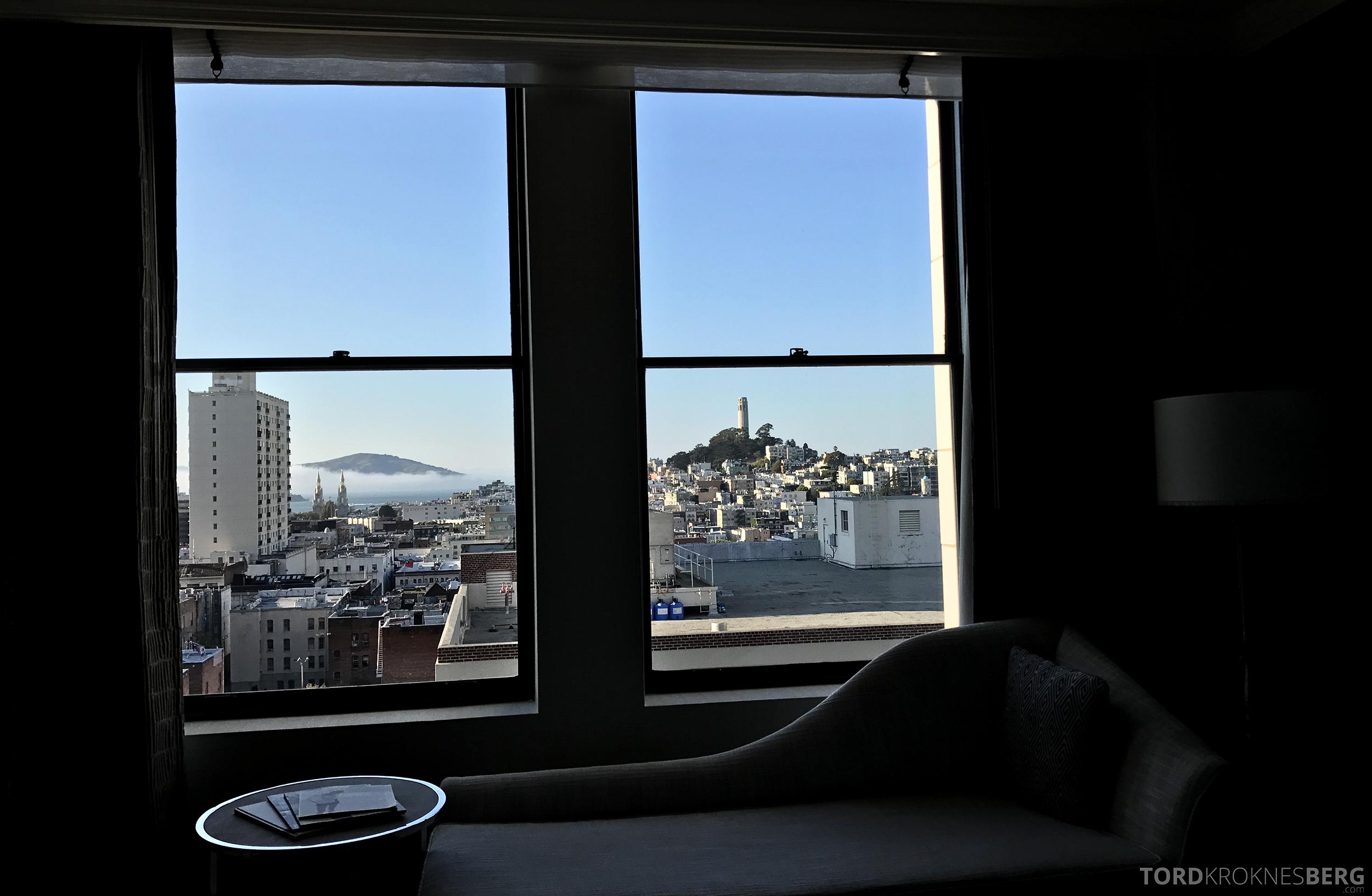 Ritz-Carlton San Francisco Hotel utsikt