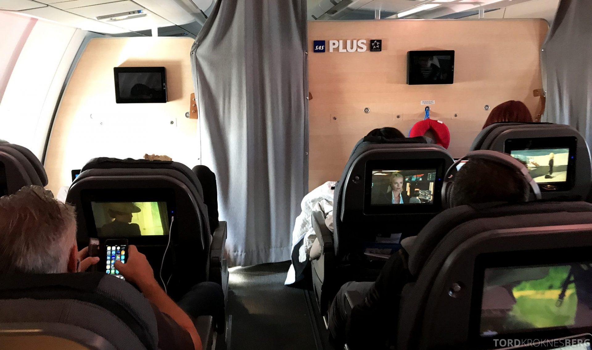 SAS Plus Oslo San Francisco kabin