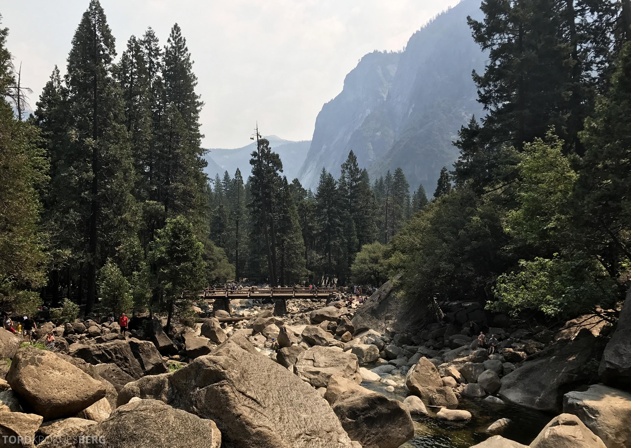 Yosemite Tour vakkert landskap