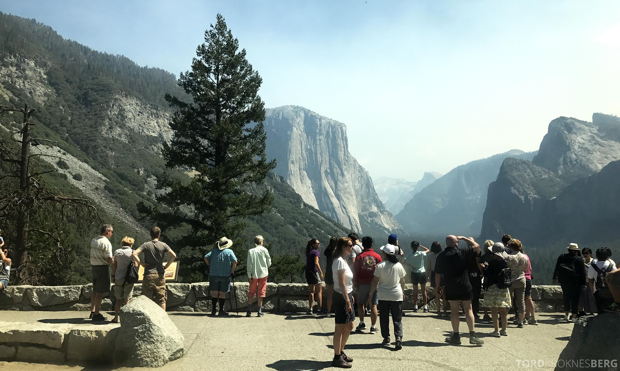 Yosemite Tour turister