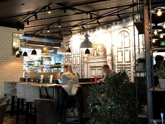 Restaurant Olivia Solsiden Trondheim omgivelser
