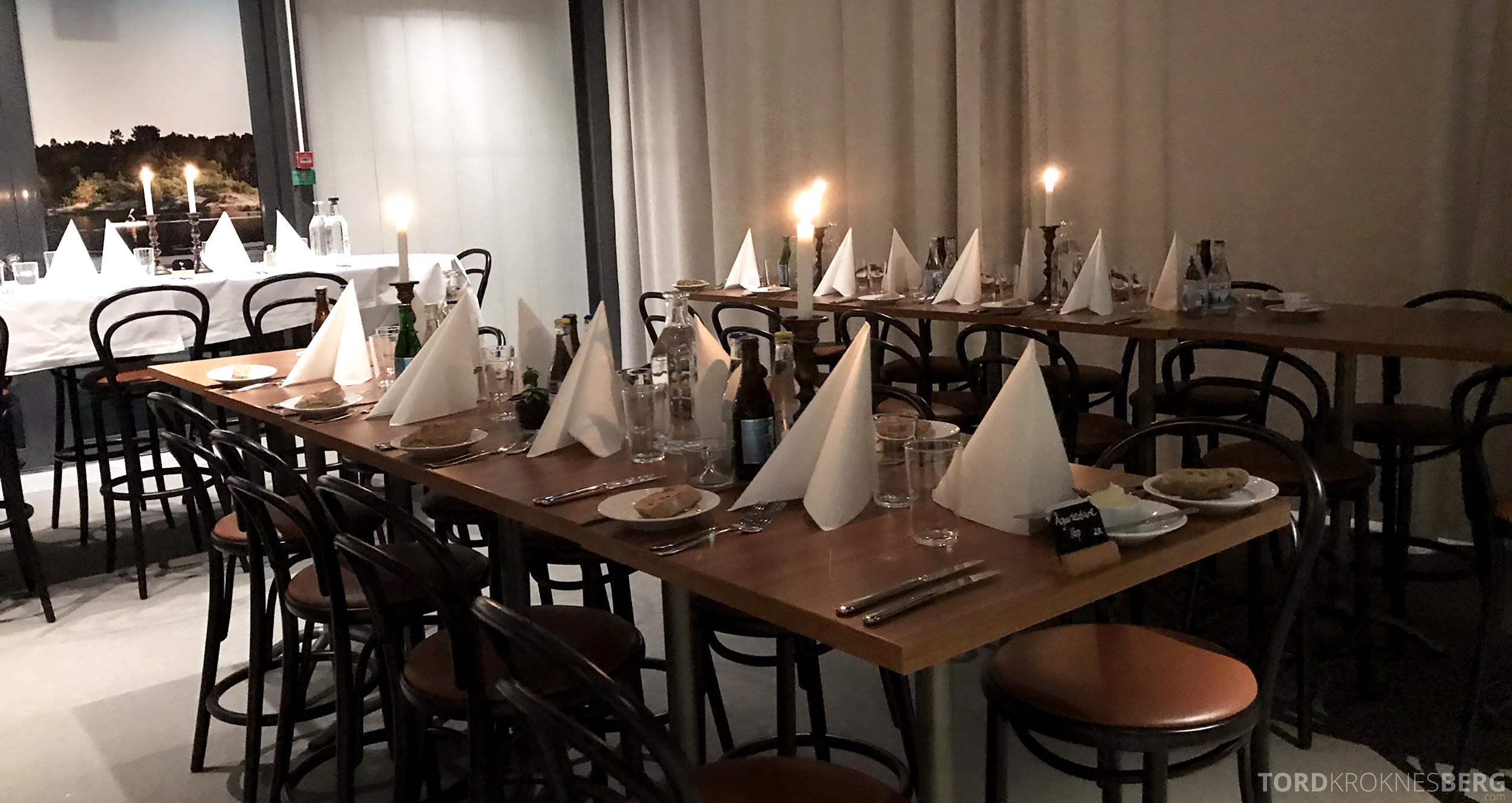 First Hotel Arlanda dekket restaurant