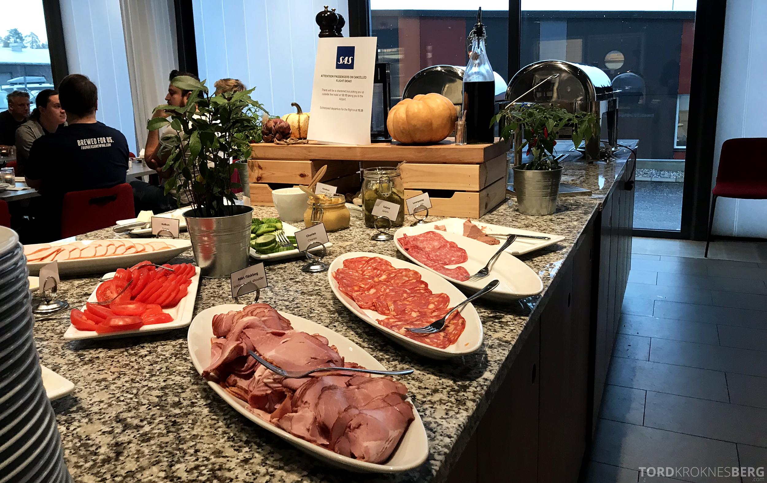 First Hotel Arlanda frokostbuffet