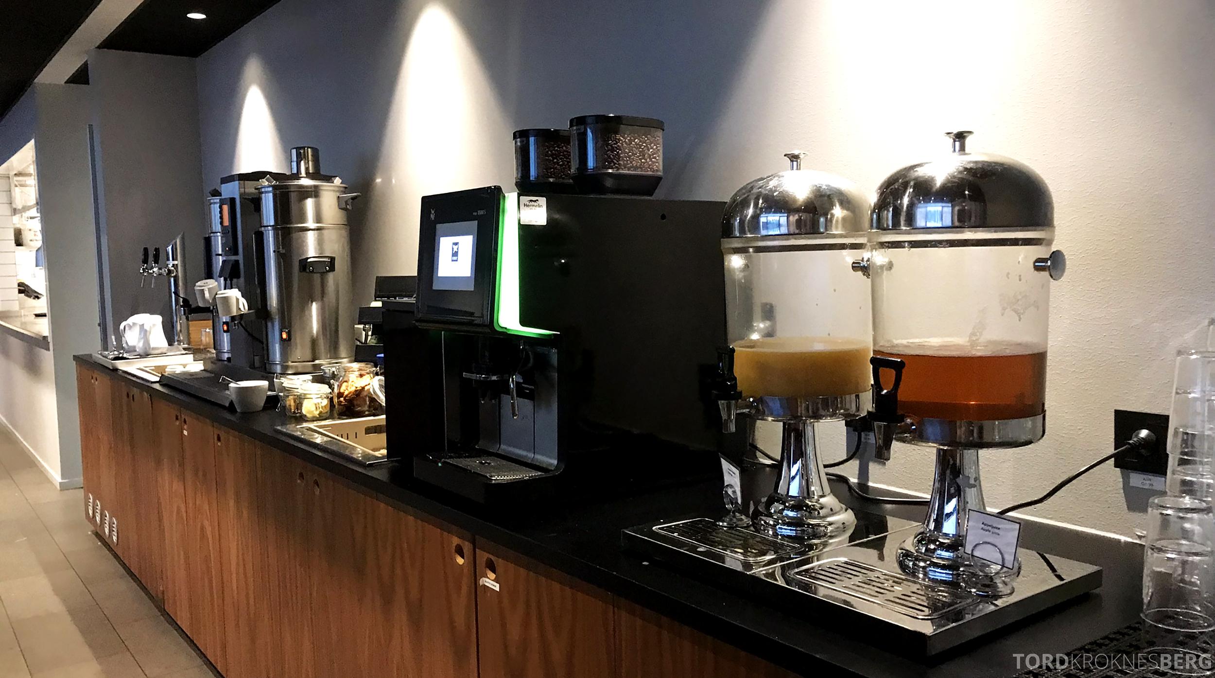 First Hotel Arlanda frokost drikke