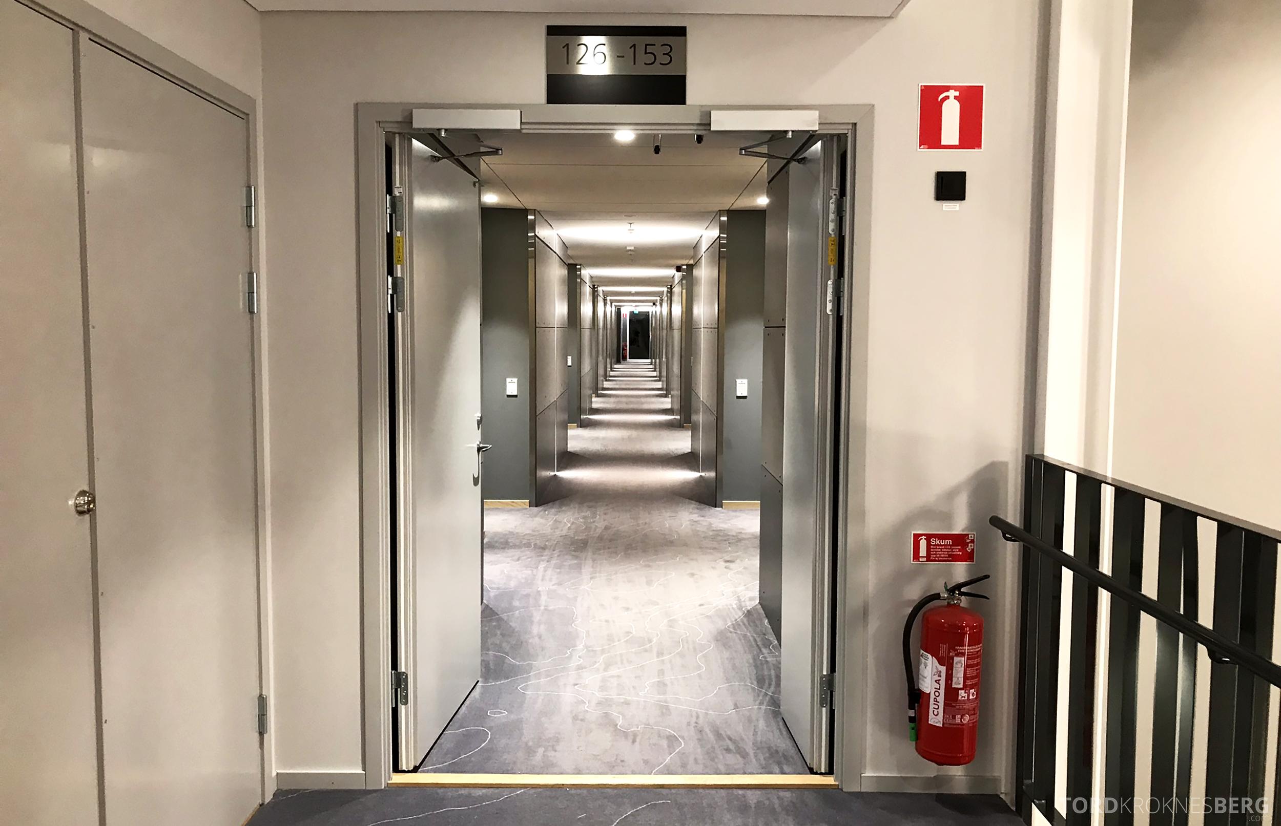 First Hotel Arlanda korridor