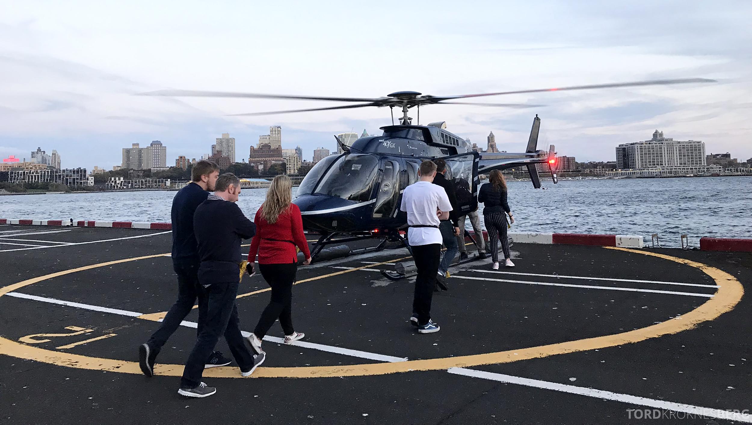 Helikopter New York passasjerer
